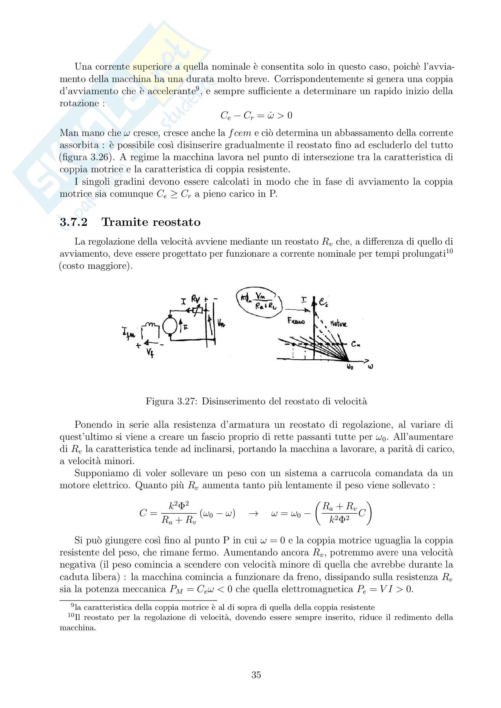 Appunti di Macchine ed azionamenti elettrici [MAE] Pag. 36