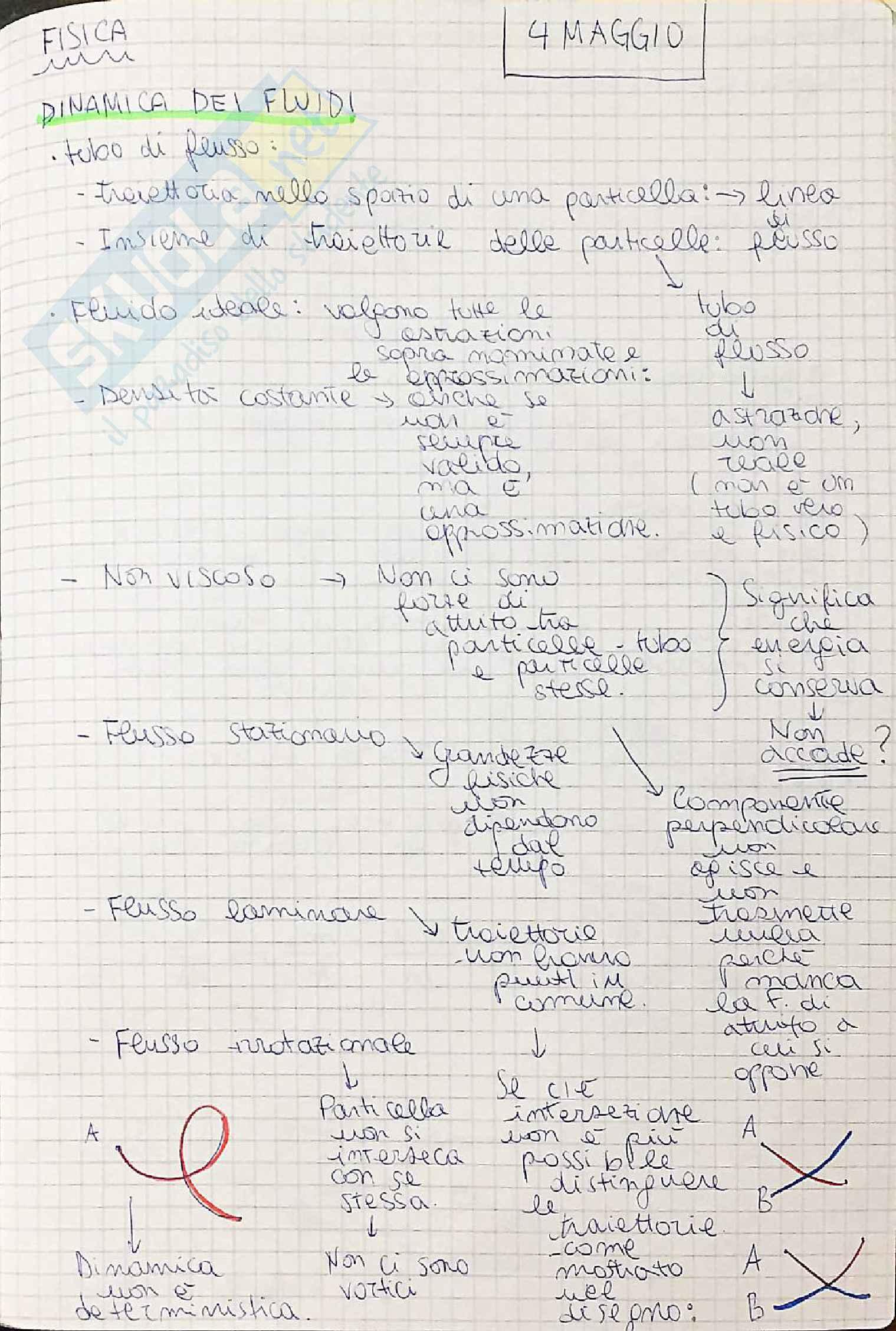 Dinamica dei fluidi ideali e viscosi