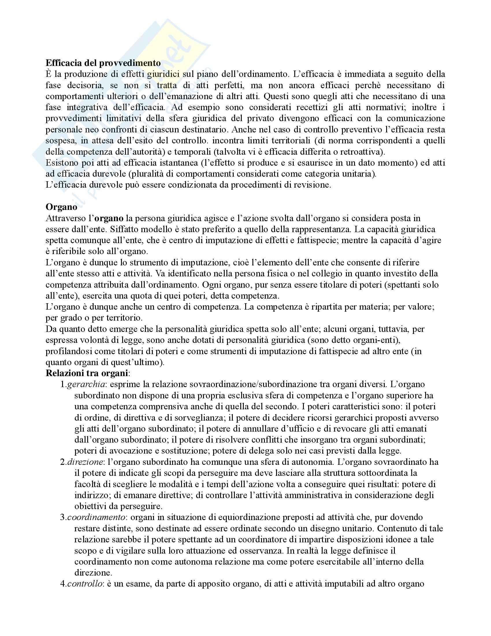 Diritto amministrativo - Domande e risposte