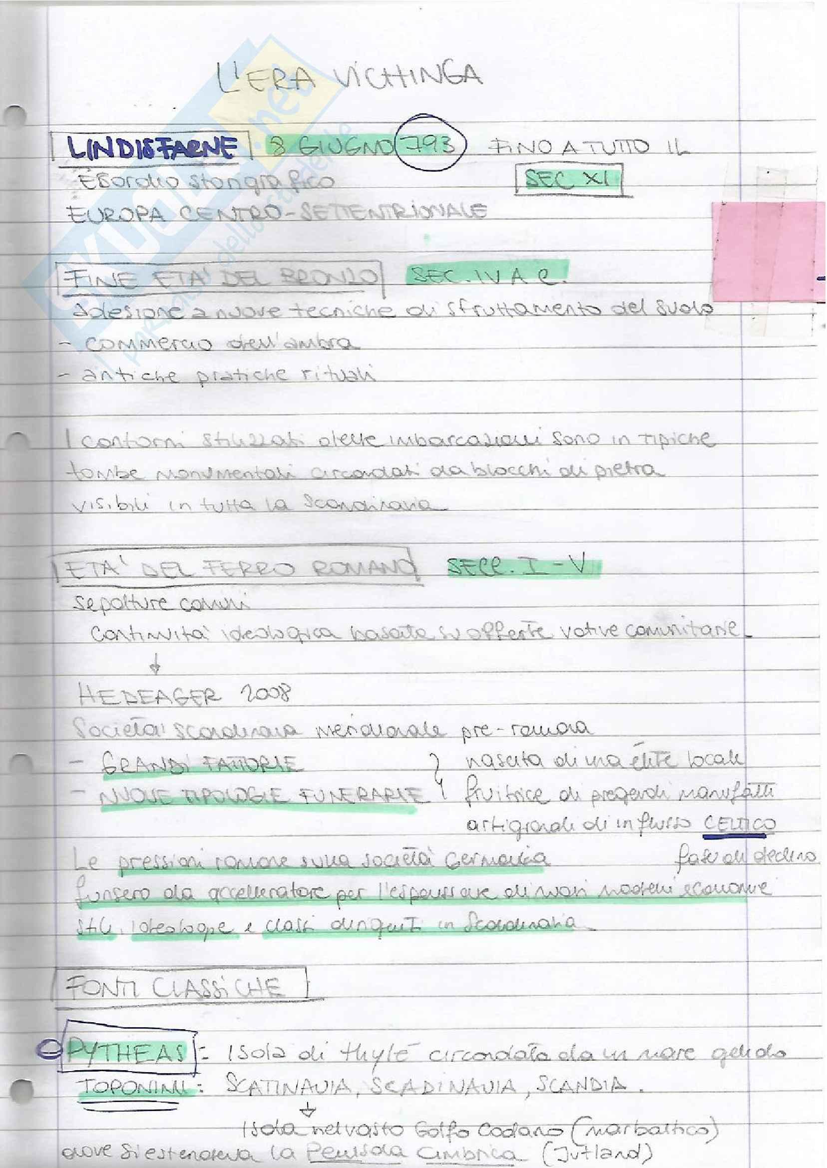 Filologia germanica, appunti parte II