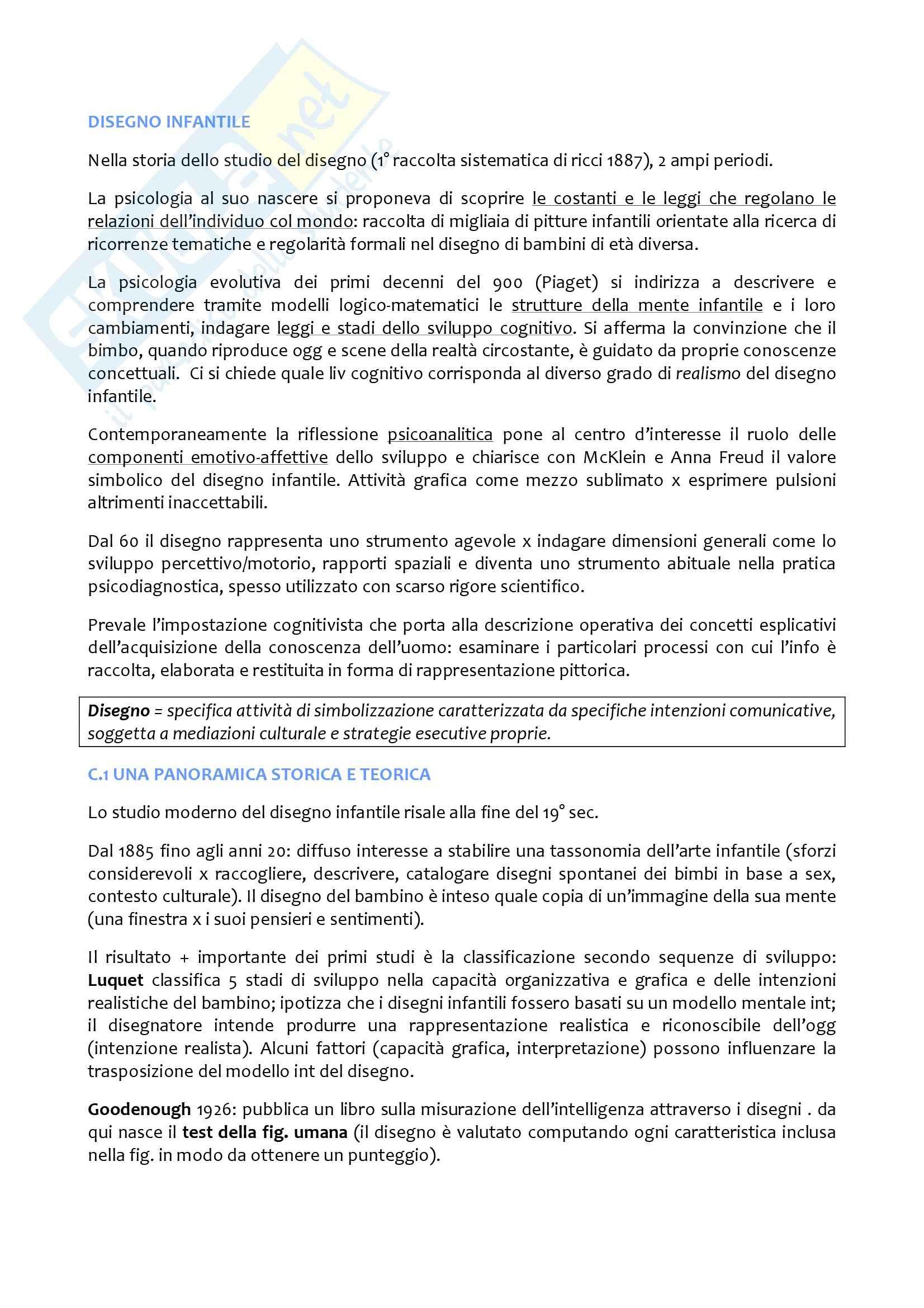 appunto T. Giani Gallino Psicologia dello sviluppo