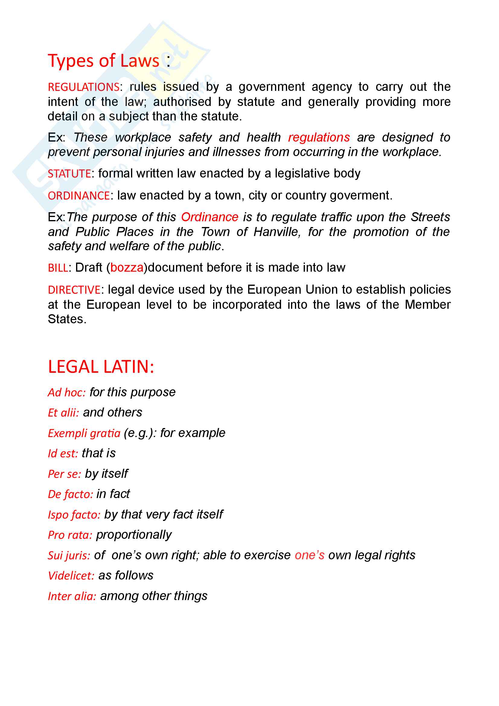 Legal English Pag. 2