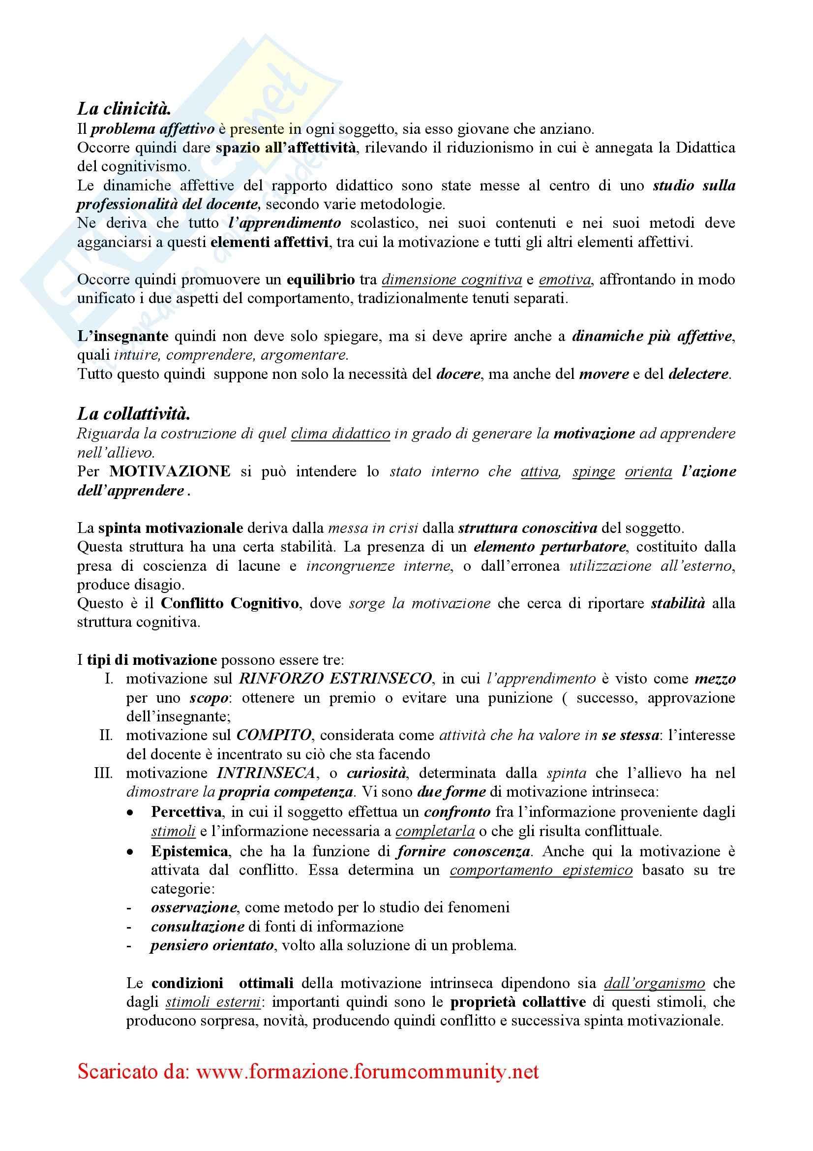 Didattica Generale – Elementi Pag. 16