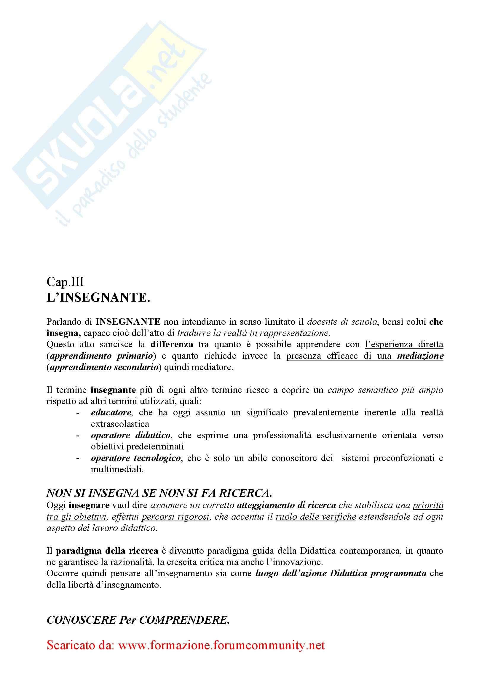 Didattica Generale – Elementi Pag. 21