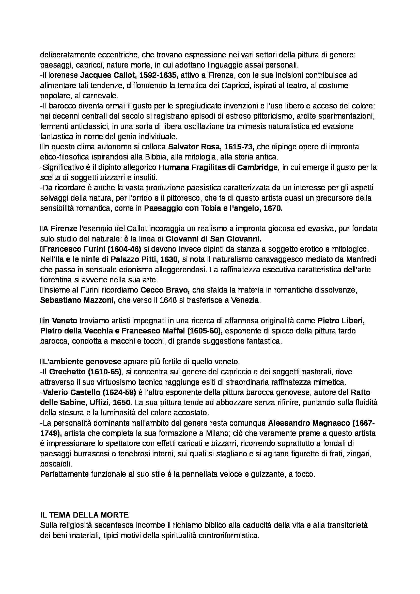 Riassunto esame Storia dell'arte moderna, prof. Benati, libro consigliato Arte nel tempo. Volume 2 -Tomo 2. Dalla crisi della Maniera al Rococò, De Vecchi Pag. 31
