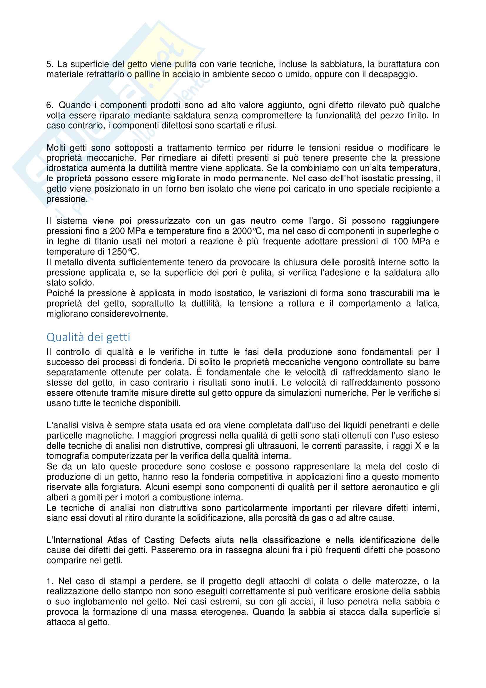Appunti tecnologia meccanica Pag. 76