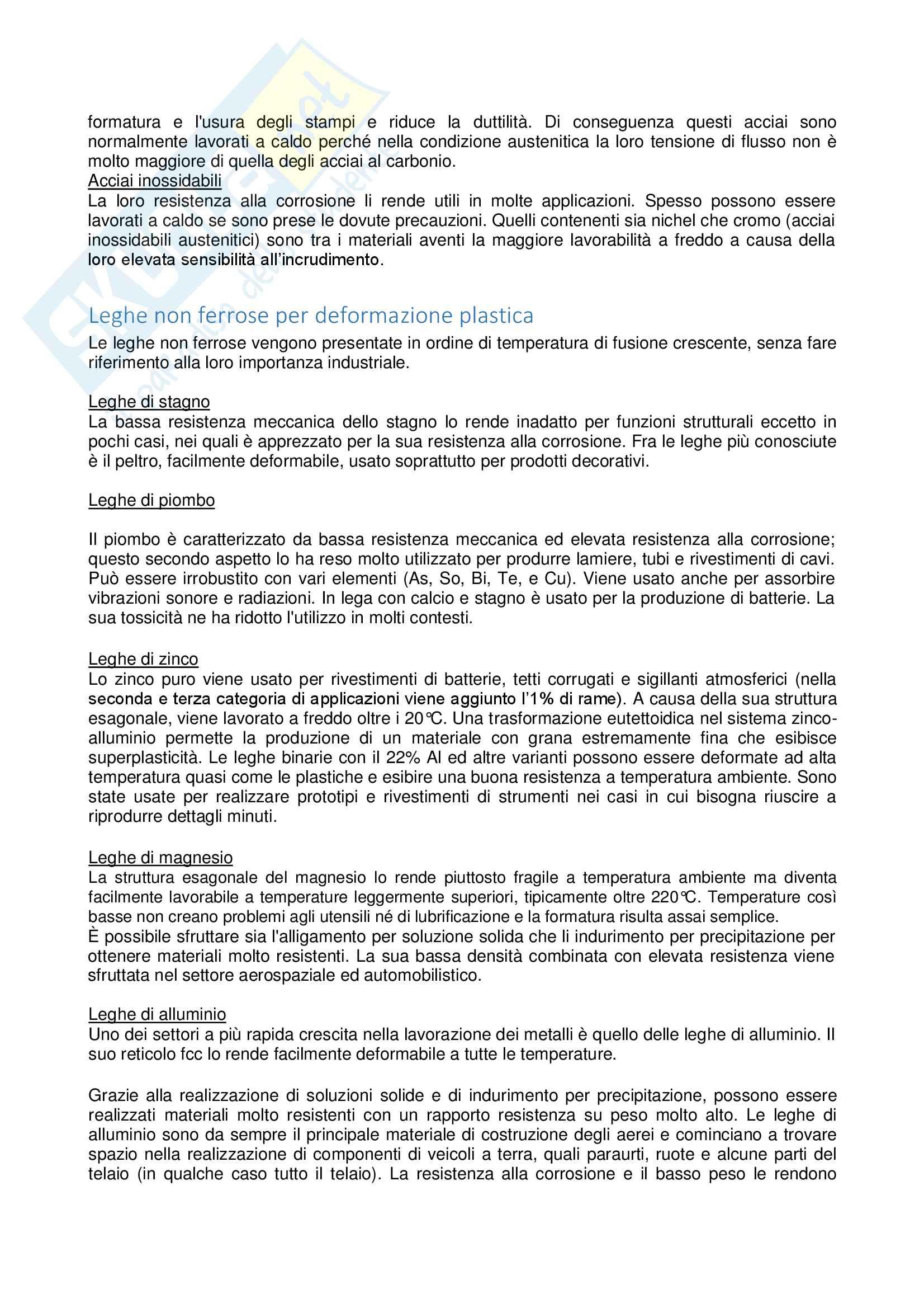 Appunti tecnologia meccanica Pag. 91