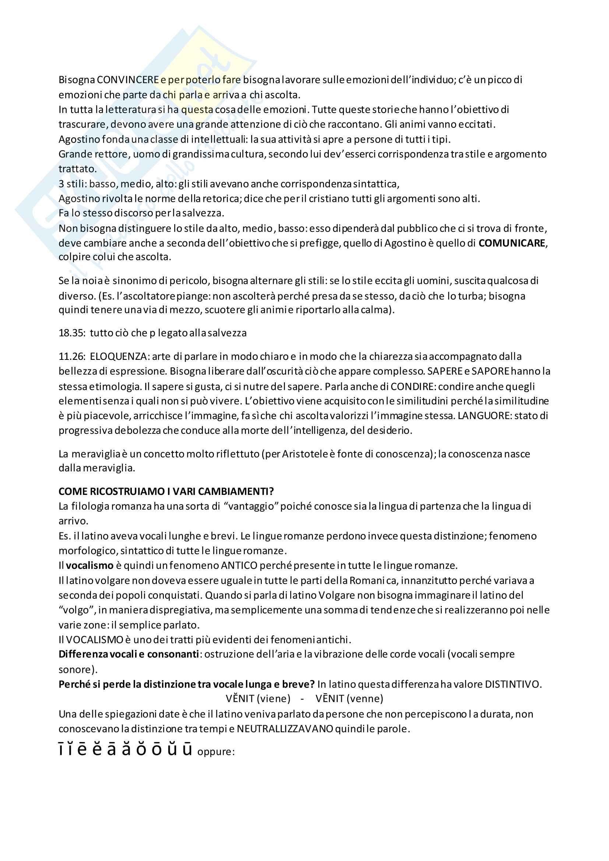 Riassunto esame Filologia Romanza, docente Punzi, libro consigliato Introduzione alla linguistica romanza, Ch Lee S Galano Pag. 6