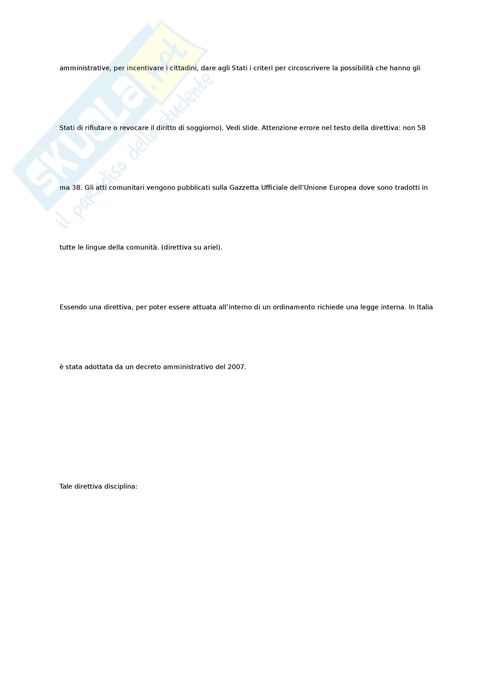 Diritto Internazionale Privato della Famiglia e delle Persone - Appunti Pag. 61