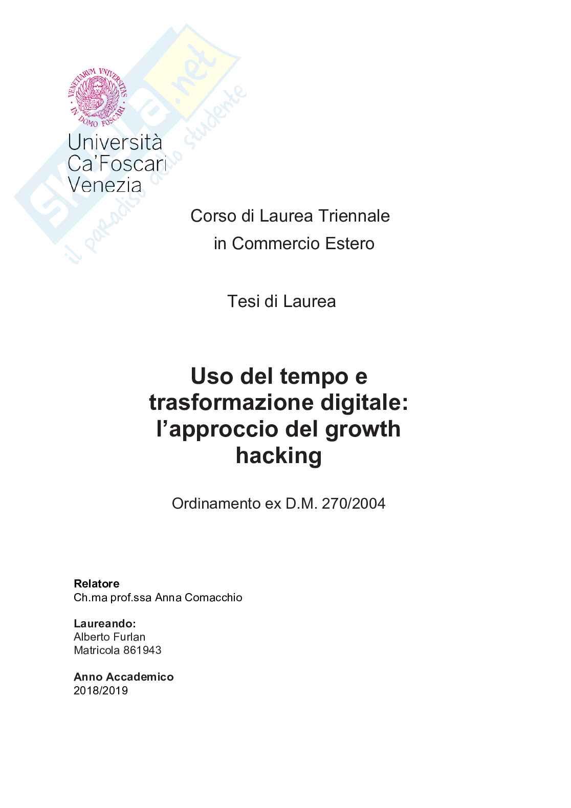 Trasformazione digitale: l'approccio del growth hacking