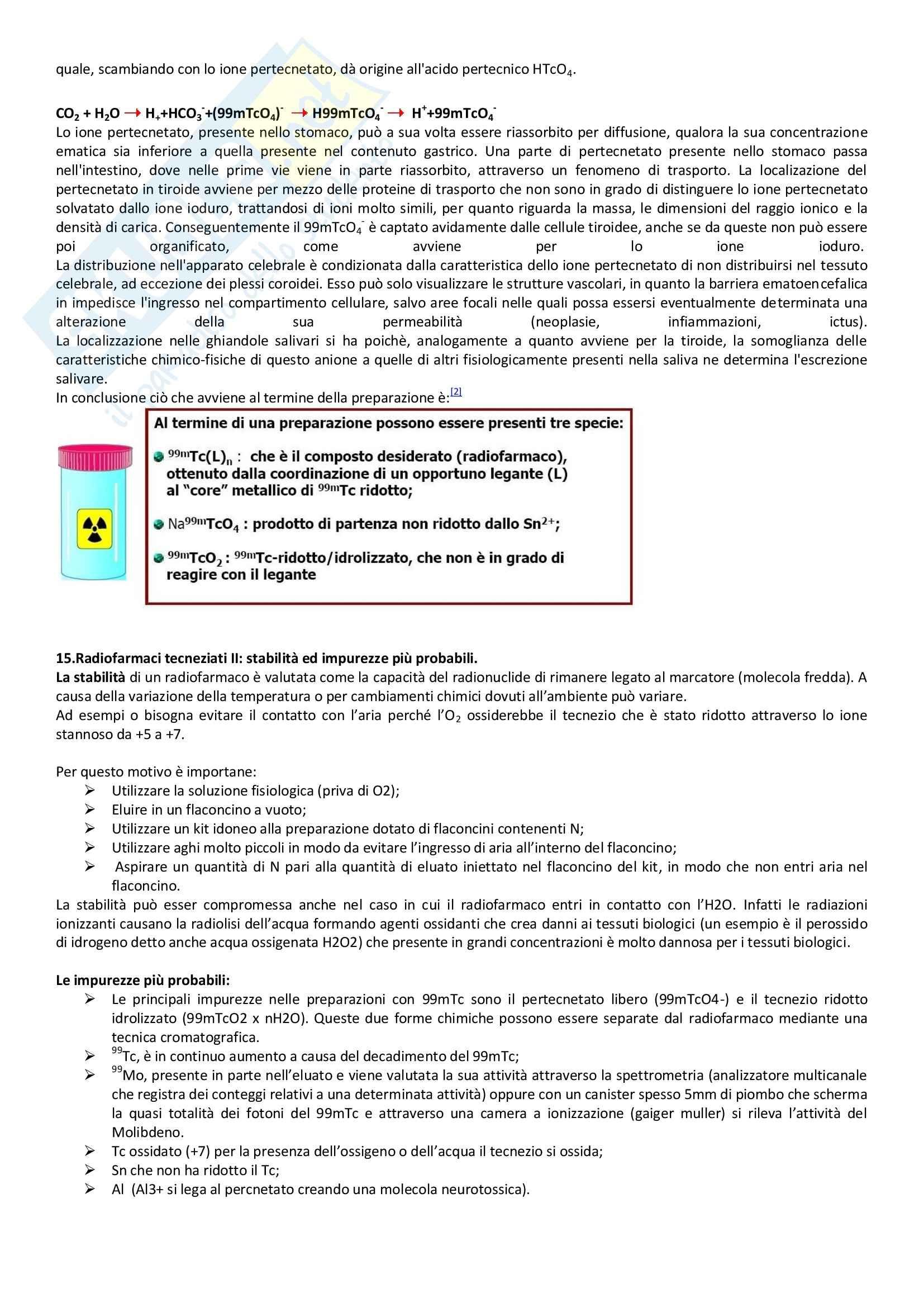 Medicina nucleare I - Appunti Pag. 11