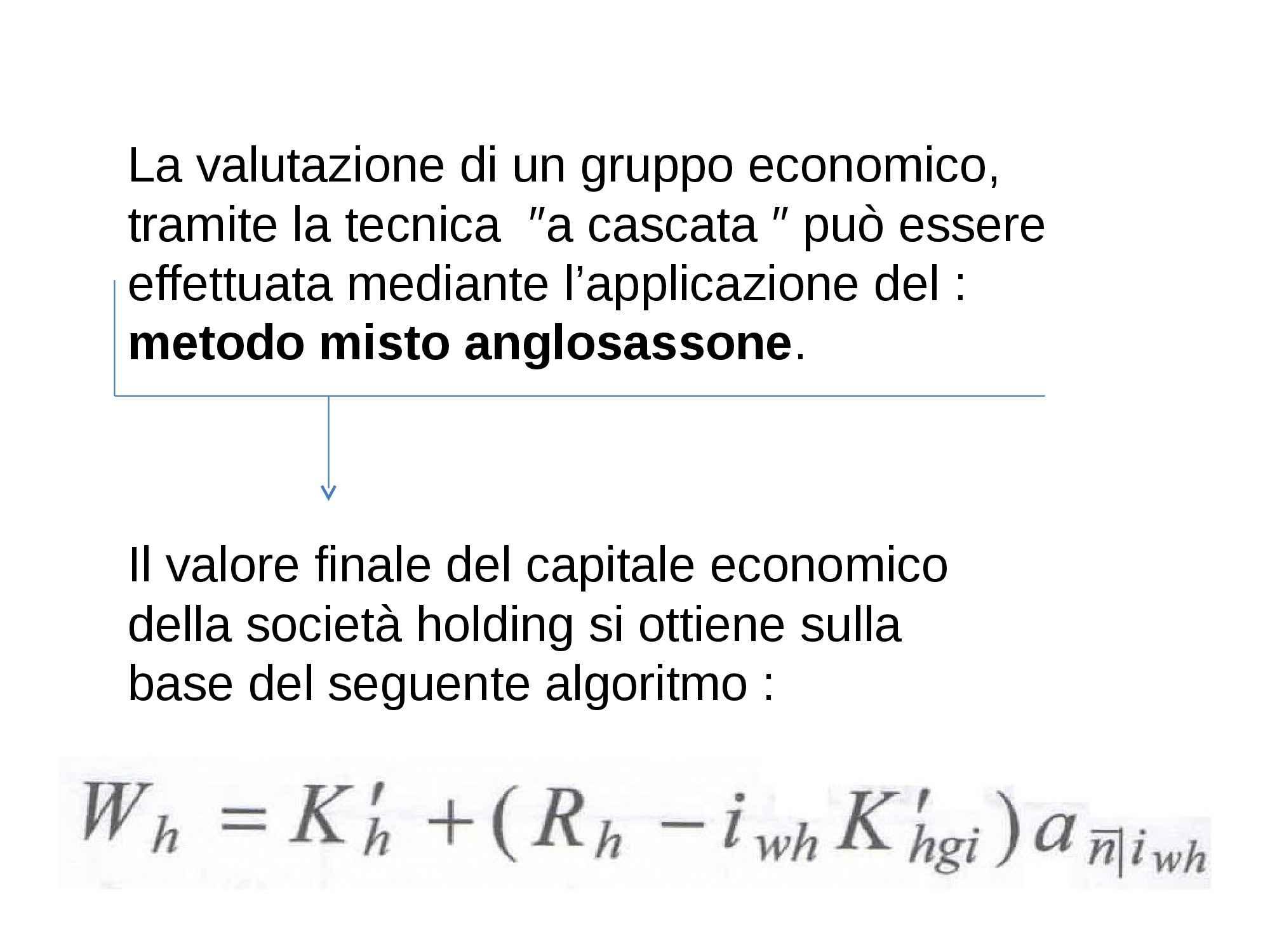 Valutazione del capitale economico - Parte III
