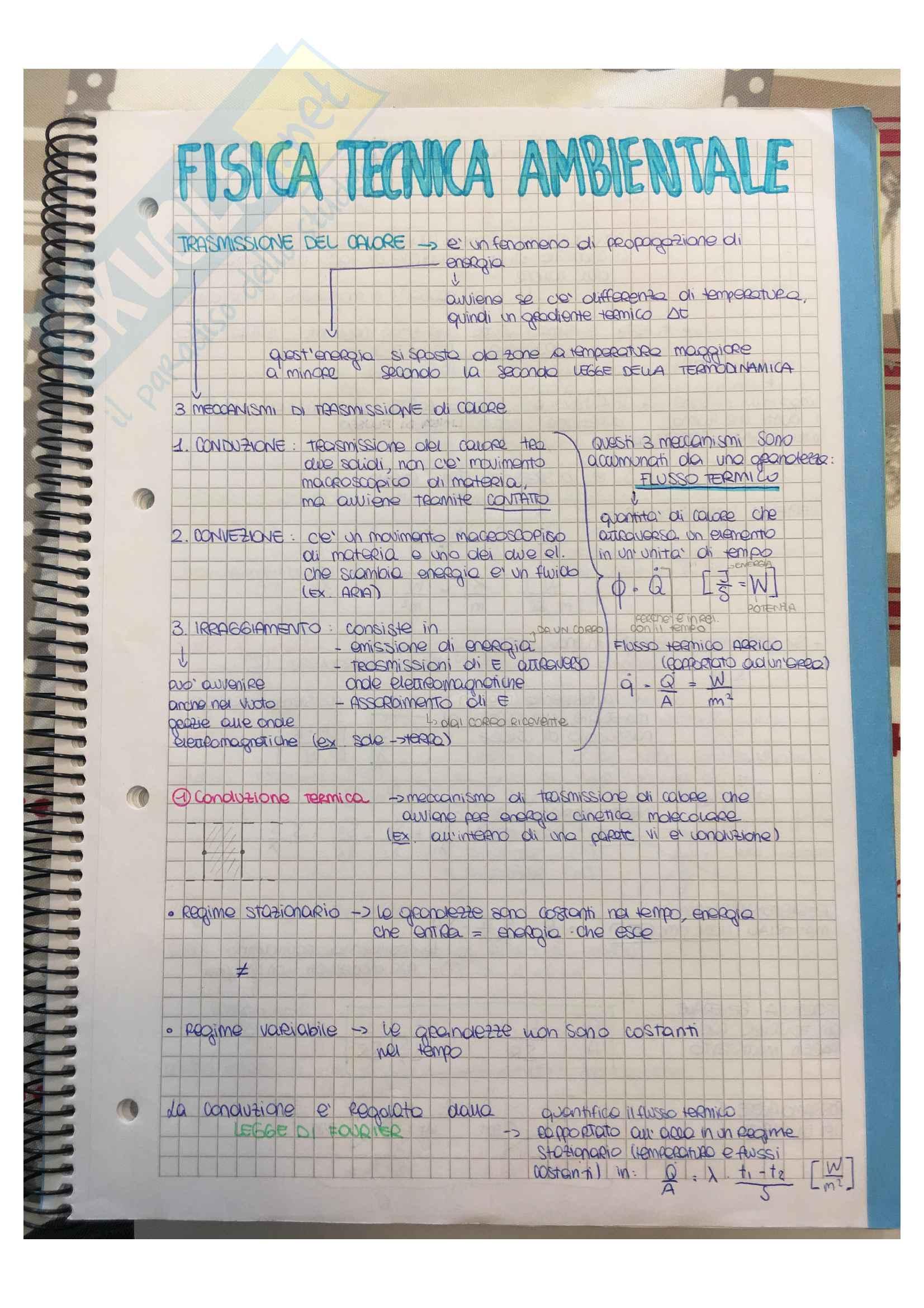 Fisica tecnica ambientale pt1