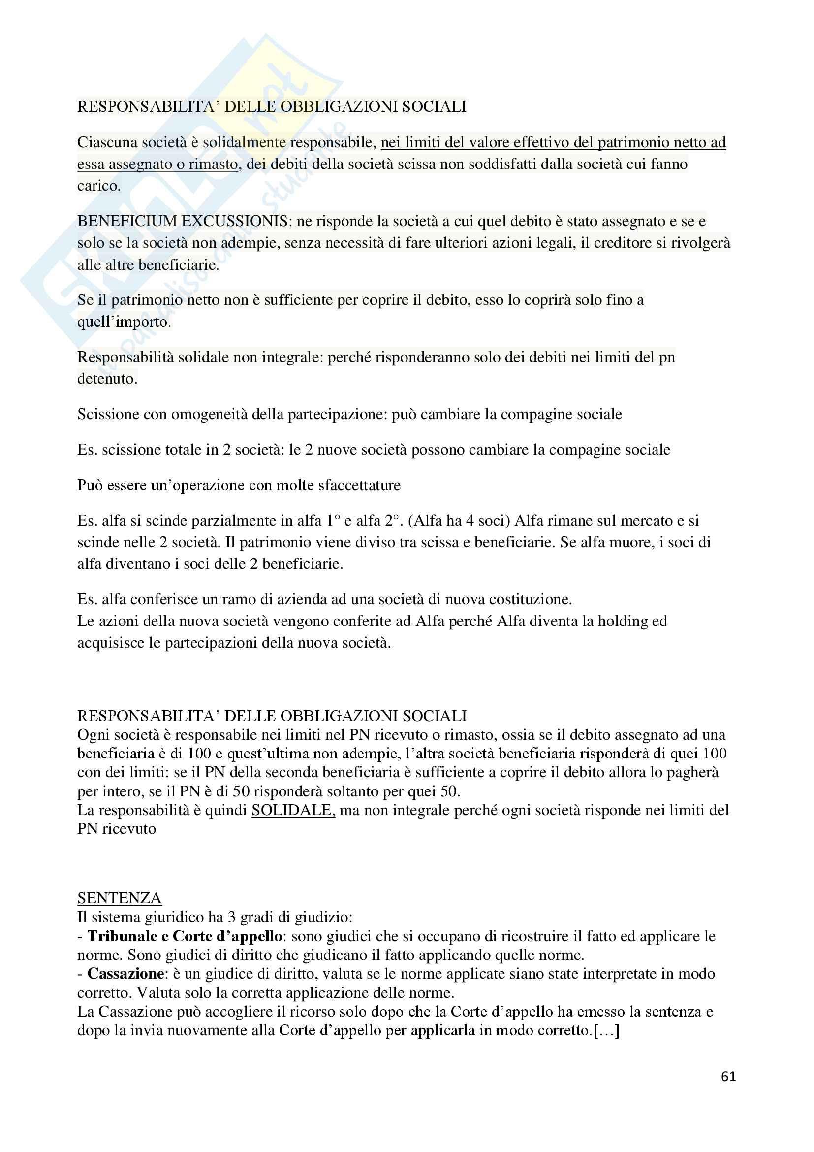 Appunti di Diritto Commerciale II Pag. 61