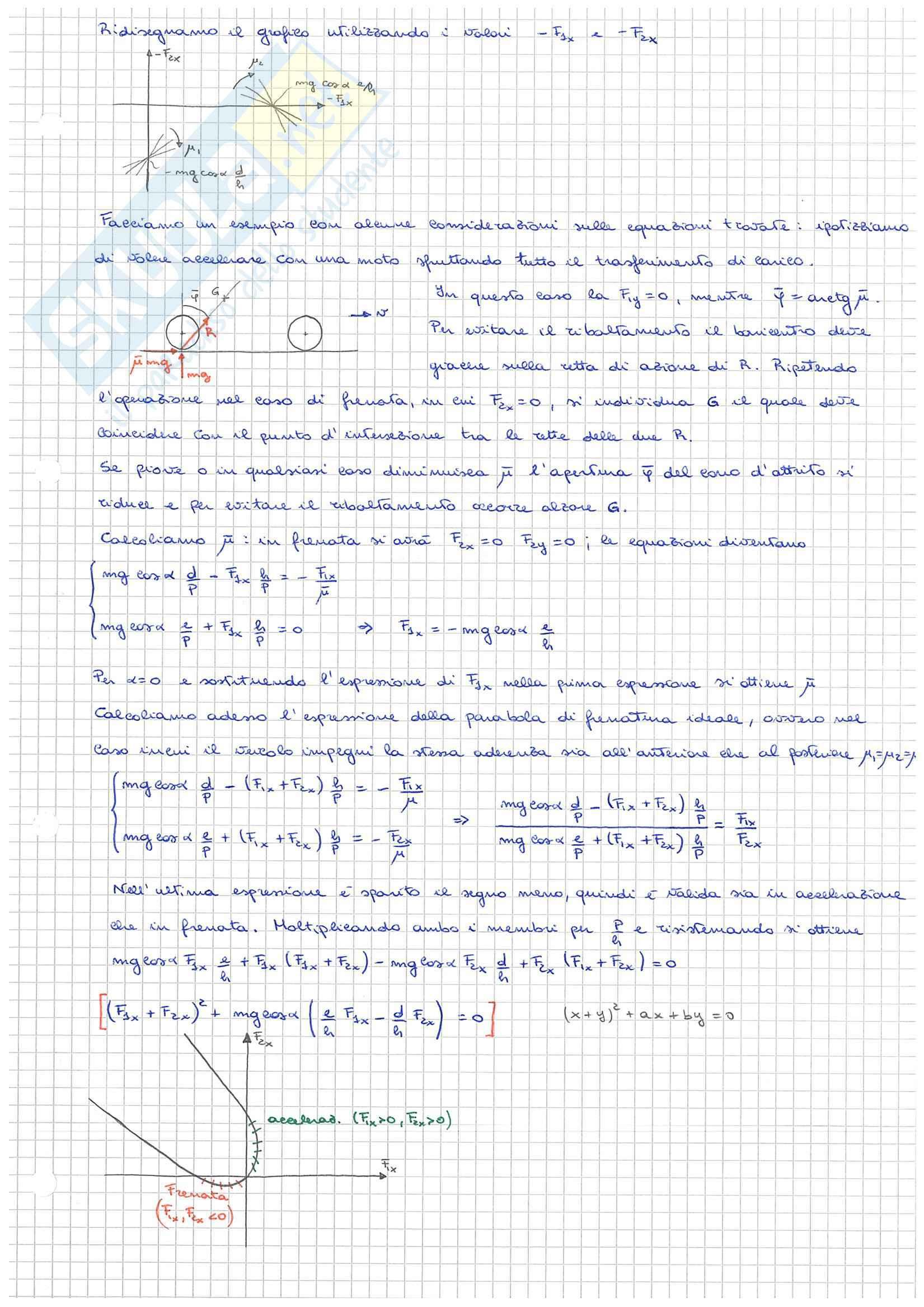 Meccanica del Veicolo - Appunti parte 04 Pag. 2
