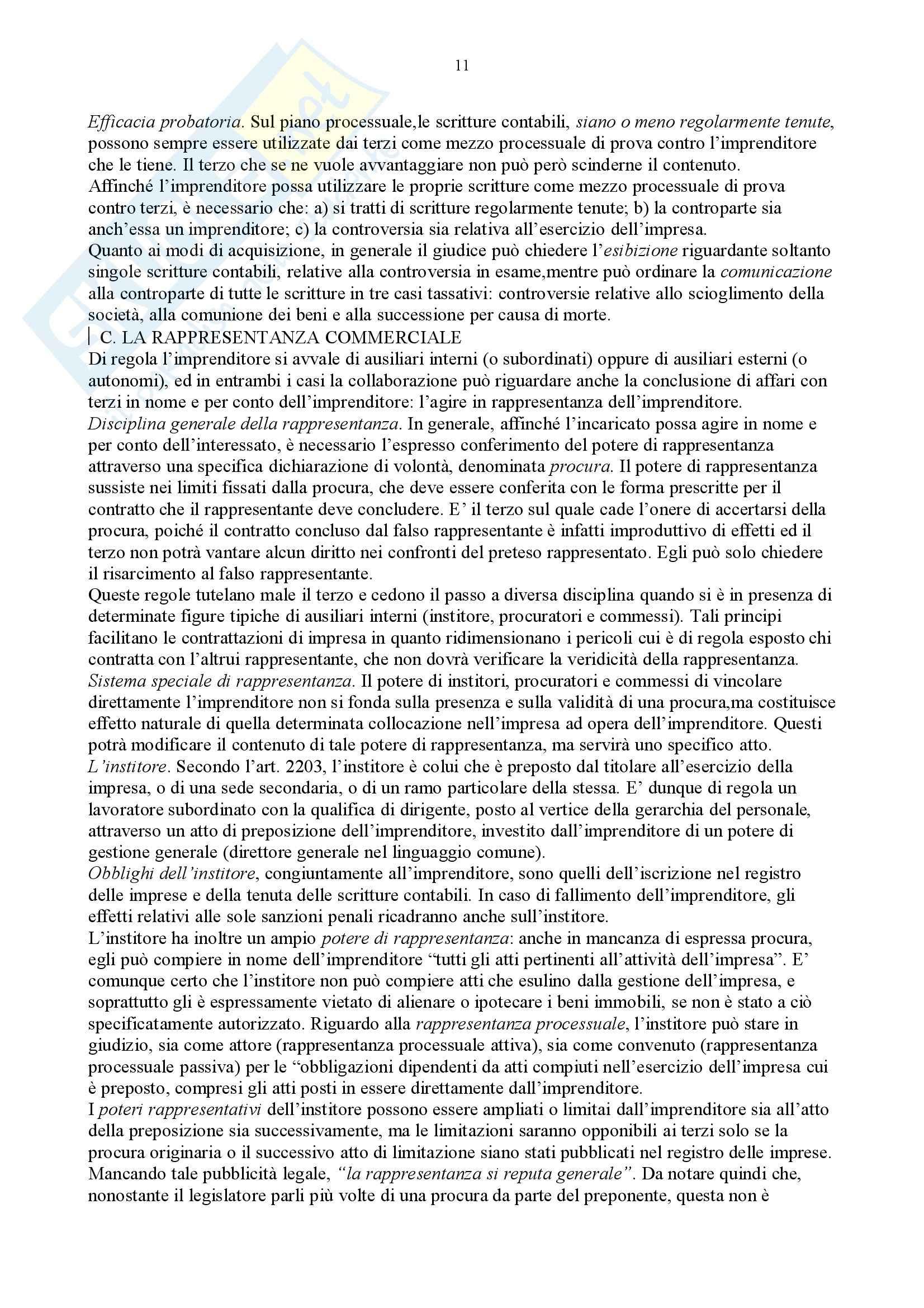 Diritto commerciale – Campobasso – Riassunto esame Pag. 11
