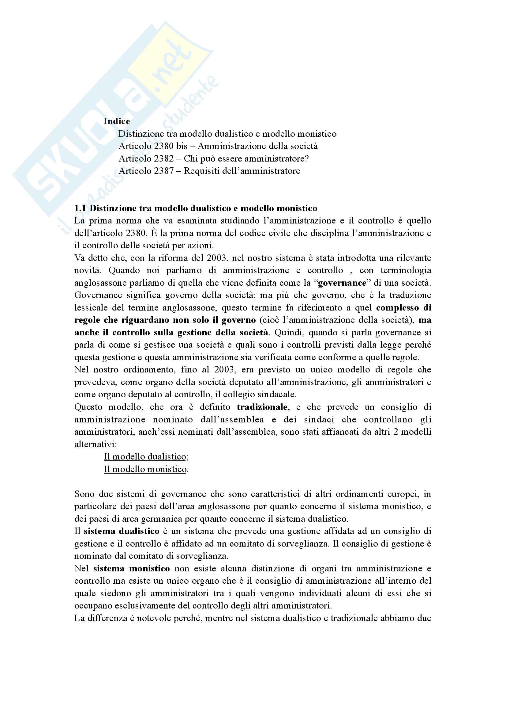 Diritto Commerciale (c.a): appunti lezioni Spagnuolo