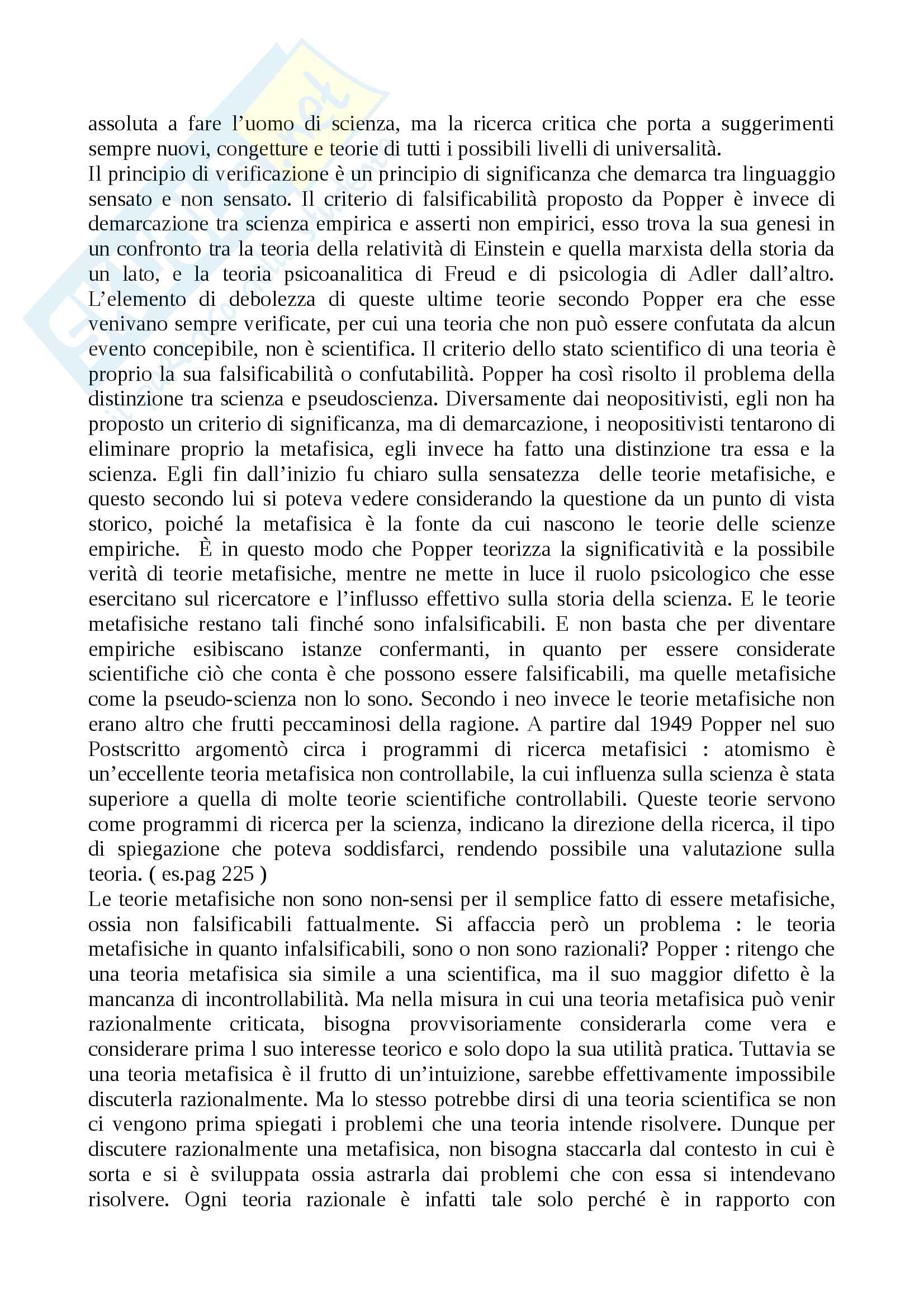 Lezioni: Appunti DI Metodologia Pag. 26