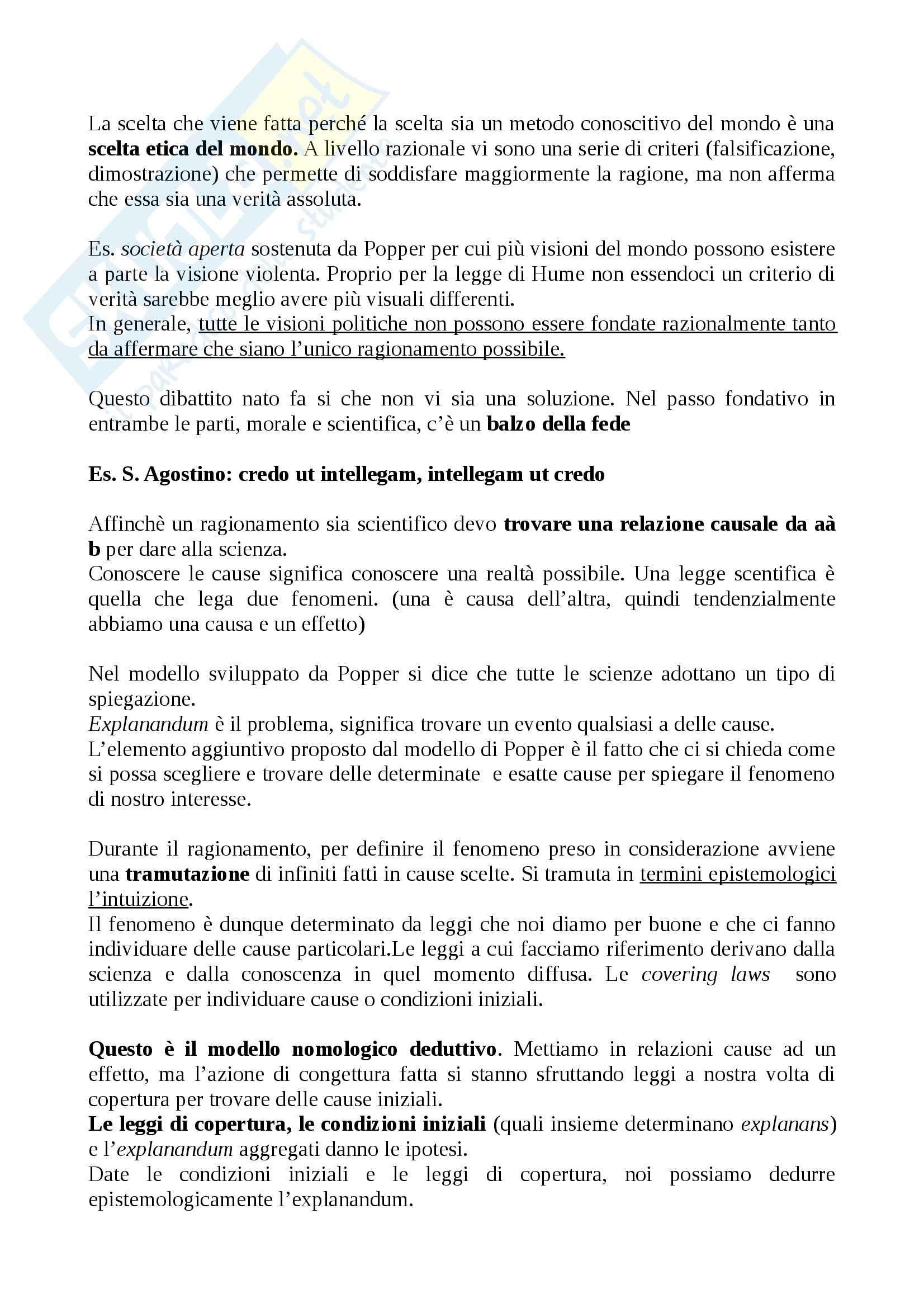 Lezioni: Appunti DI Metodologia Pag. 76