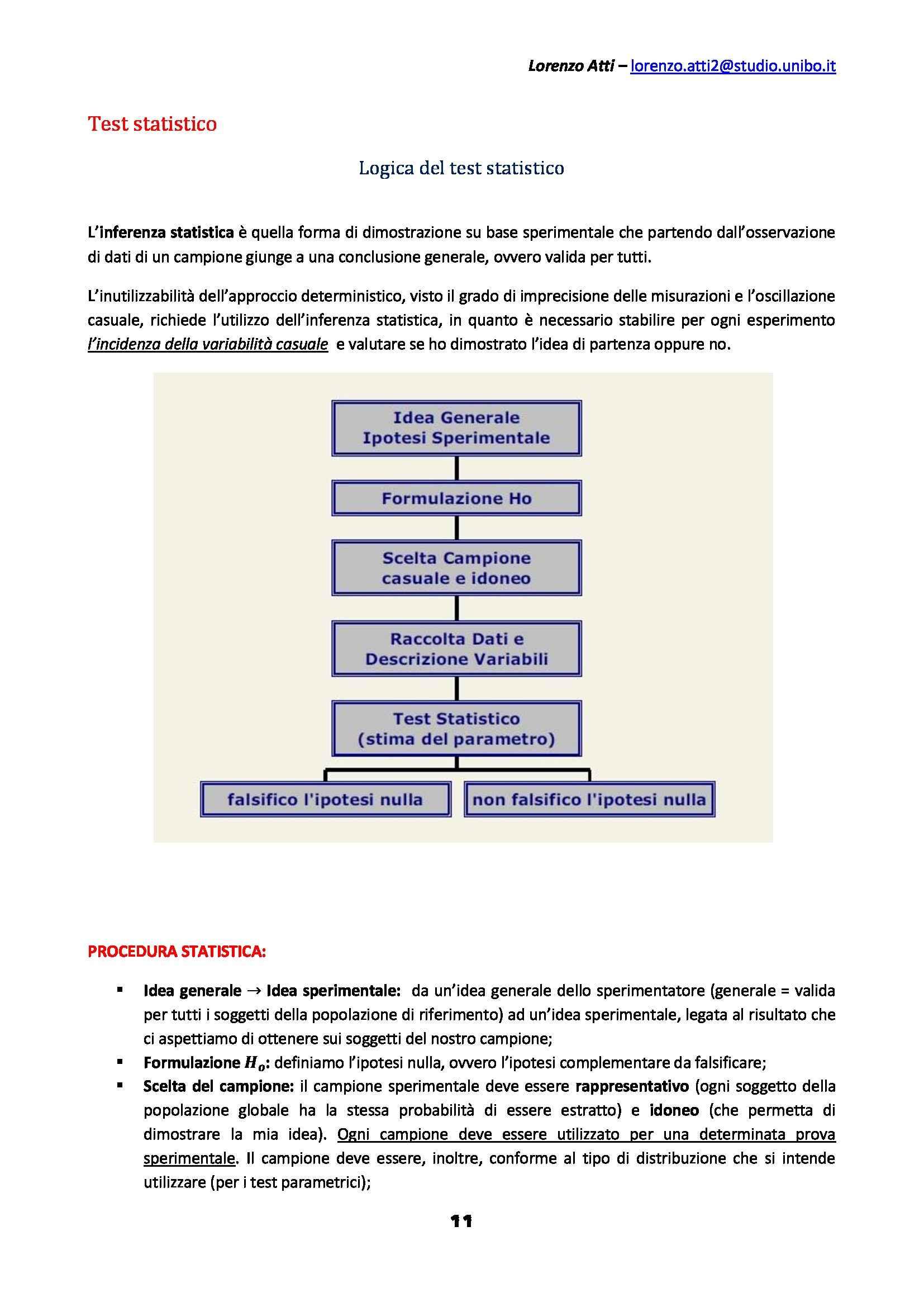 Statistica psicometrica - Appunti Pag. 11