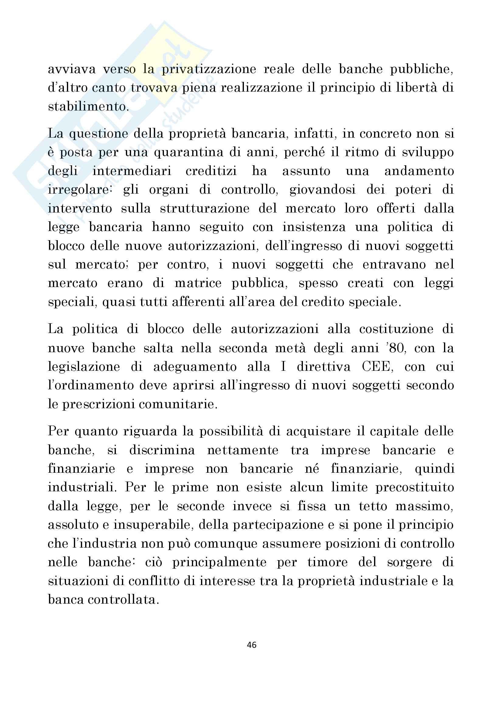 Diritto delle Banche prof Antonucci Pag. 46