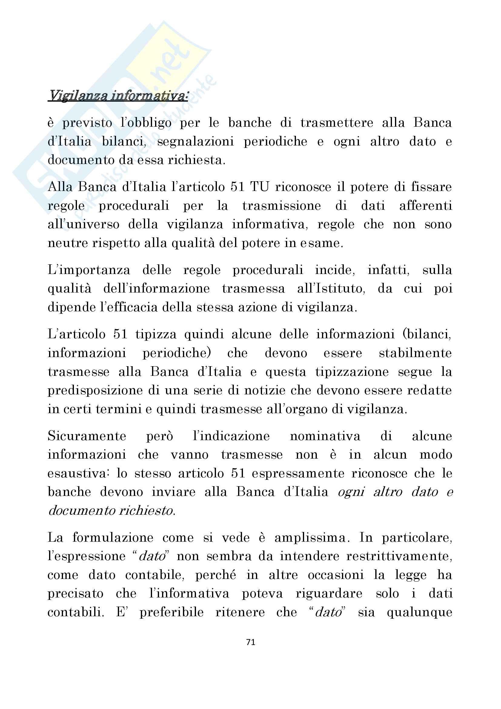 Diritto delle Banche prof Antonucci Pag. 71