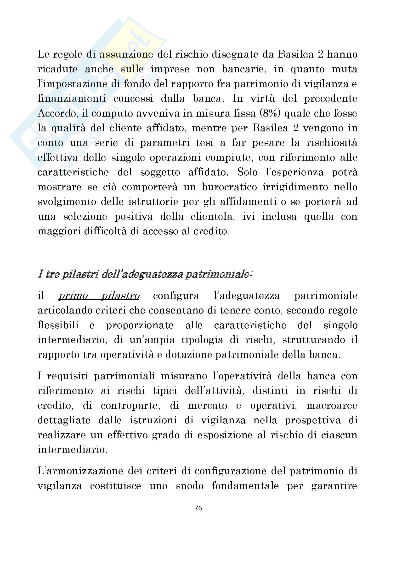 Diritto delle Banche prof Antonucci Pag. 76