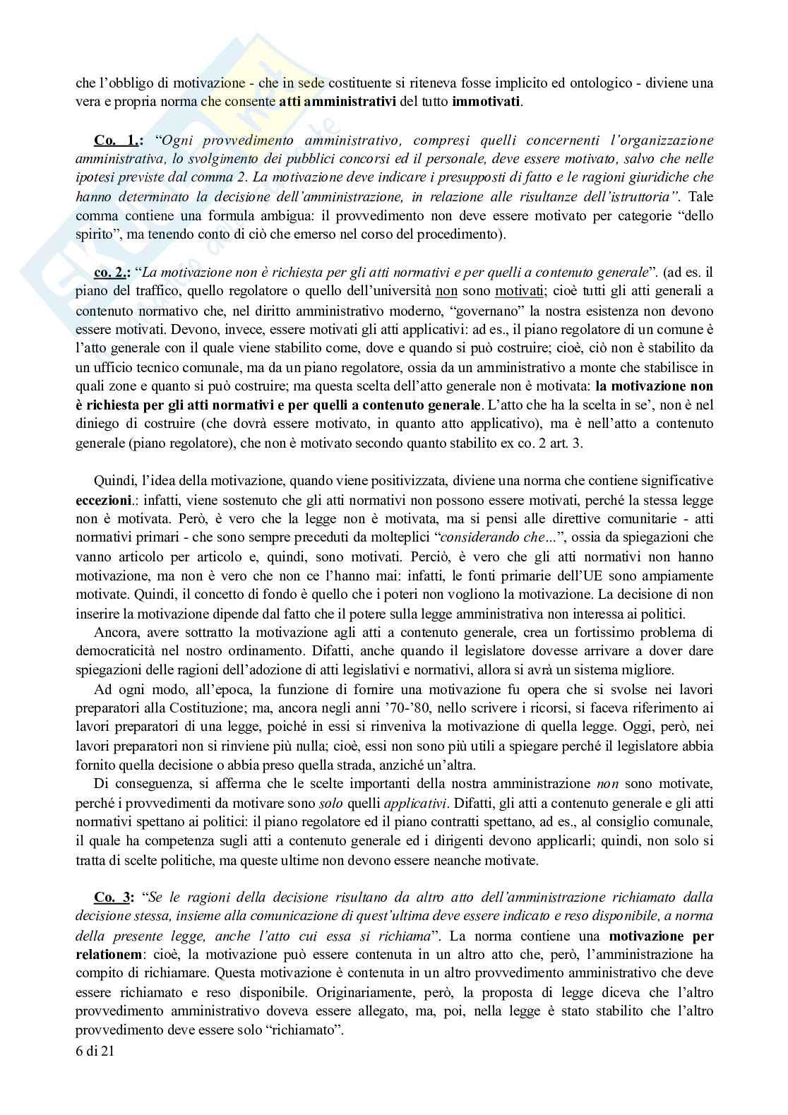 Appunti di Diritto Amministrativo: legge sul procedimento amministrativo (L. 241/1990) commentata Pag. 6