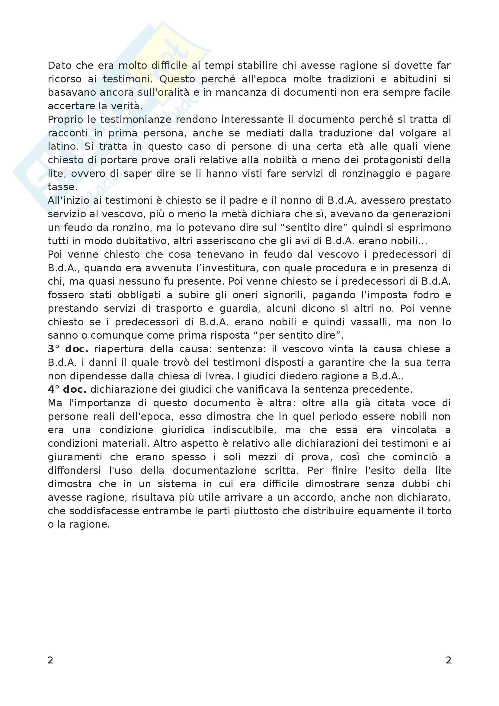 Riassunto esame Storia moderna, prof. Arcangeli, libro consigliato Prima lezione di metodo storico, Luzzatto Pag. 2