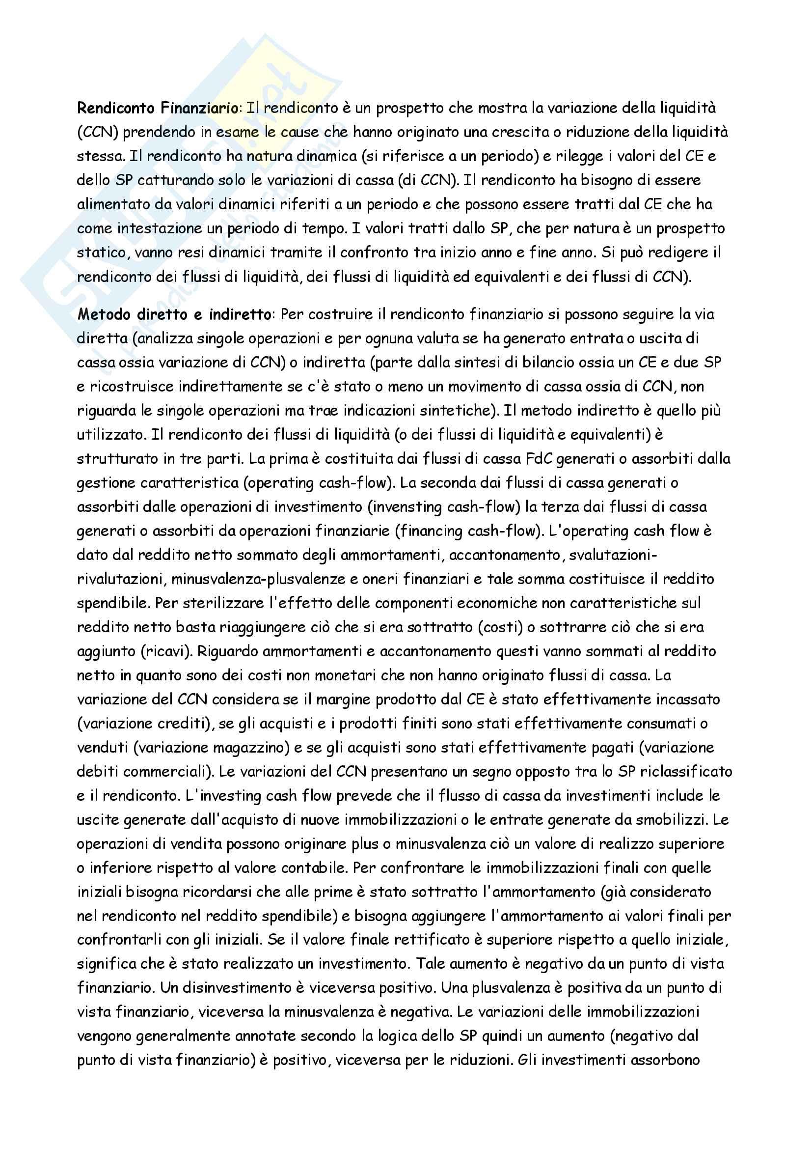 Appunti completi Controllo di gestione Pag. 16
