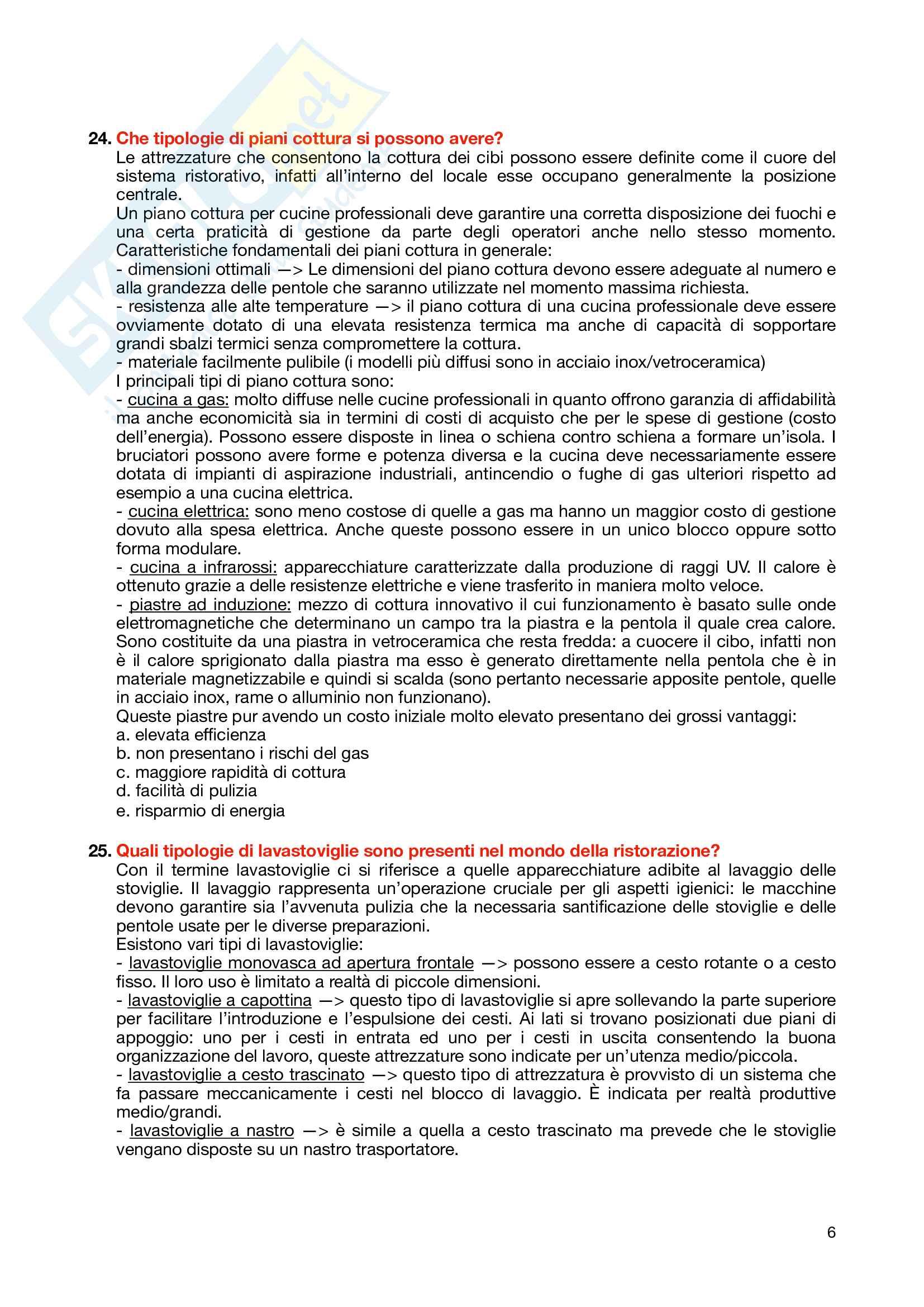 Tutte le domande con risposte dell'esame progettazione e logistica Pag. 6