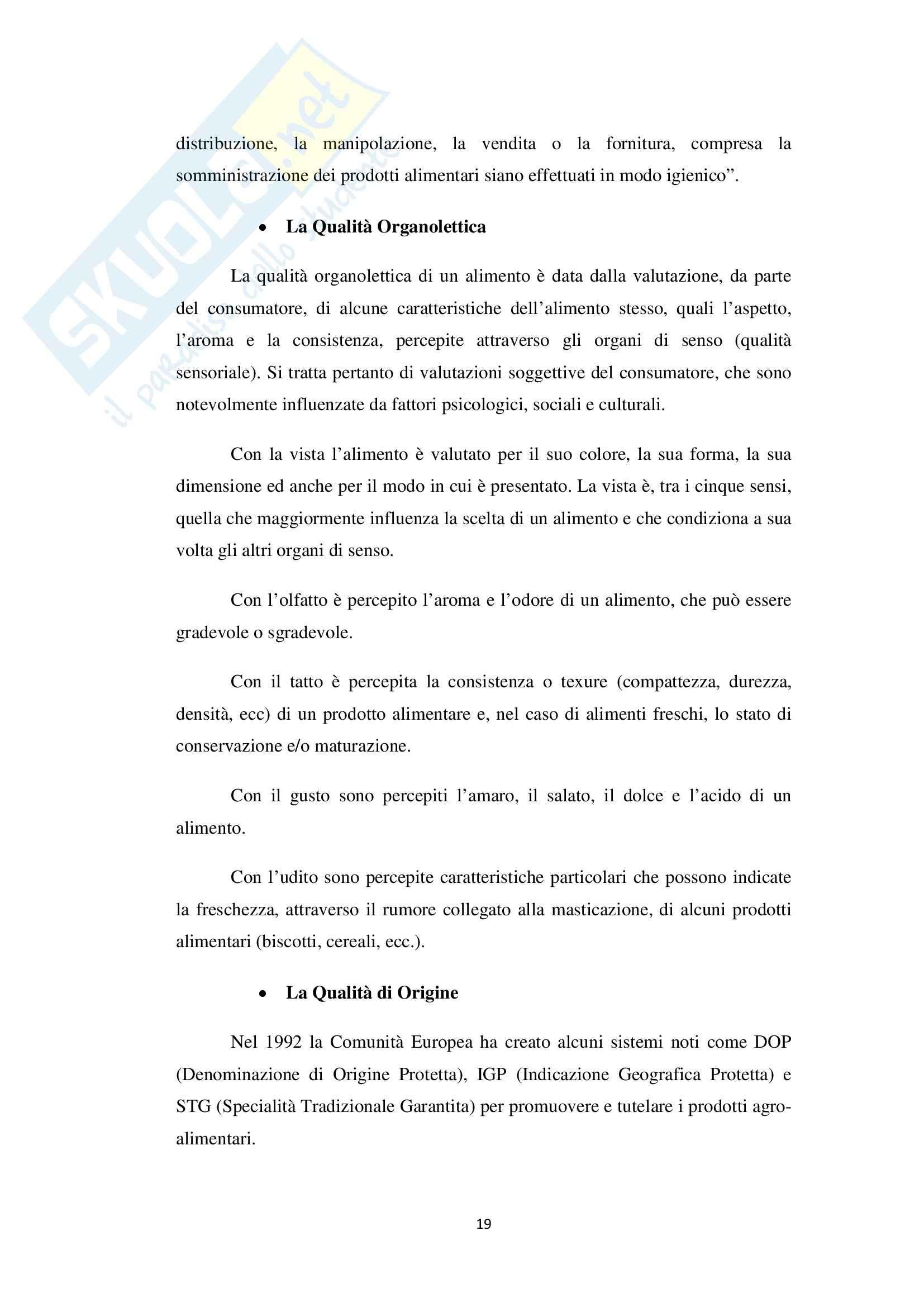 Valutazione sensoriale in prodotti di pasticceria artigianale freschi e surgelati, Analisi chimiche Pag. 21