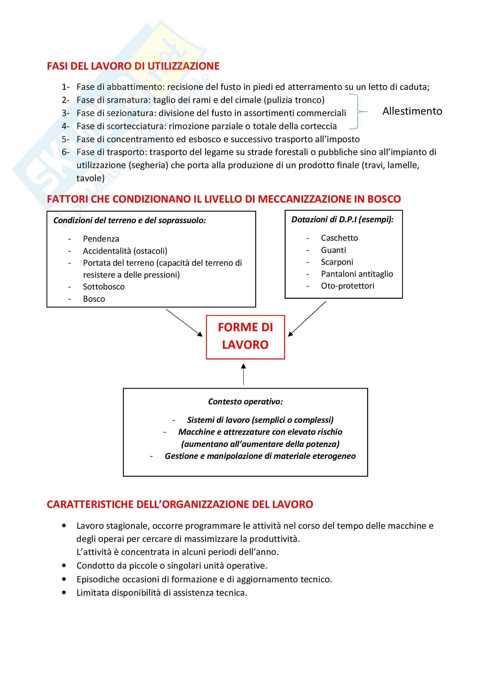 Meccanica e meccanizzazione forestale Pag. 2