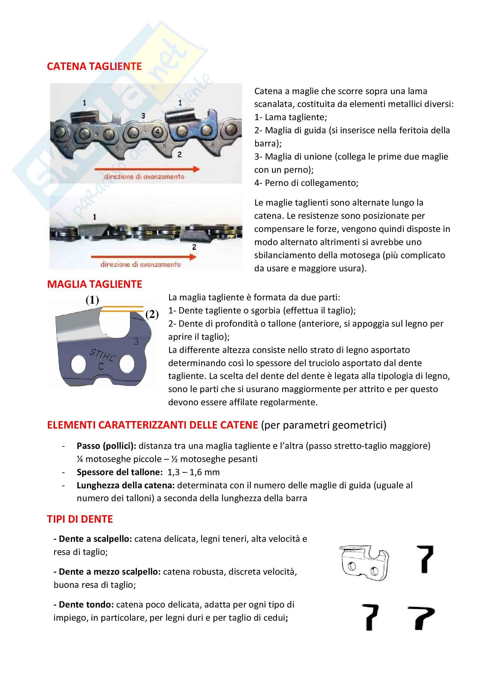 Meccanica e meccanizzazione forestale Pag. 26