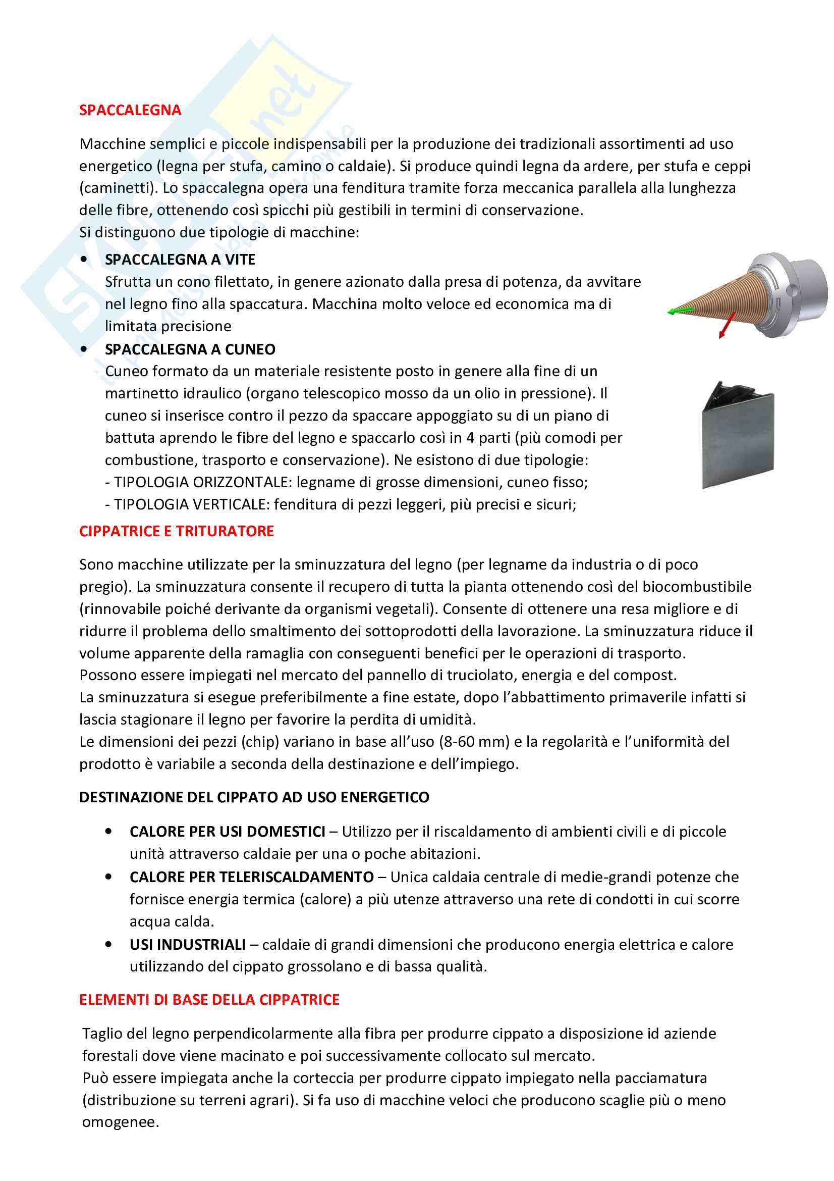 Meccanica e meccanizzazione forestale Pag. 41