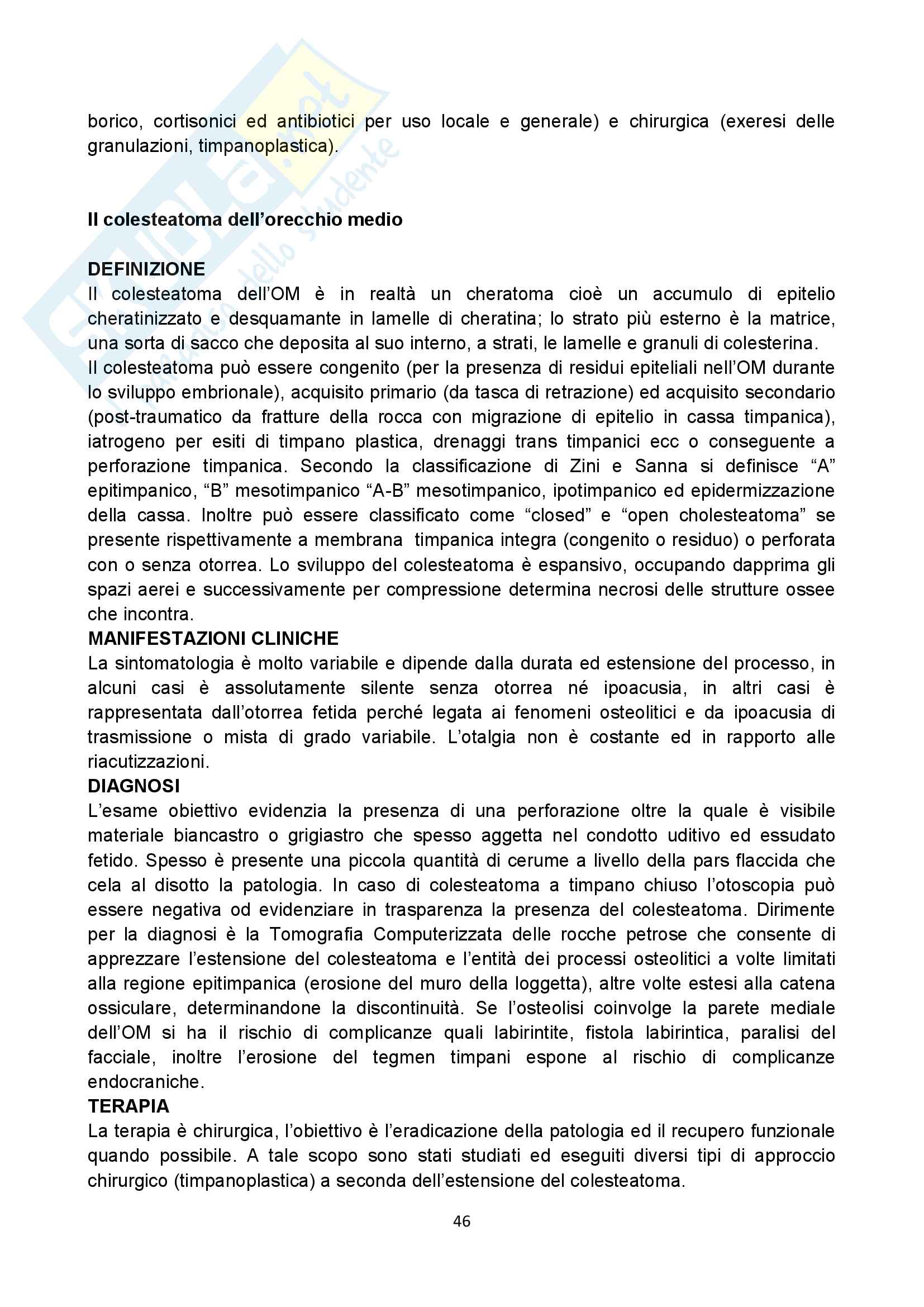 Appunti audiologia Pag. 46