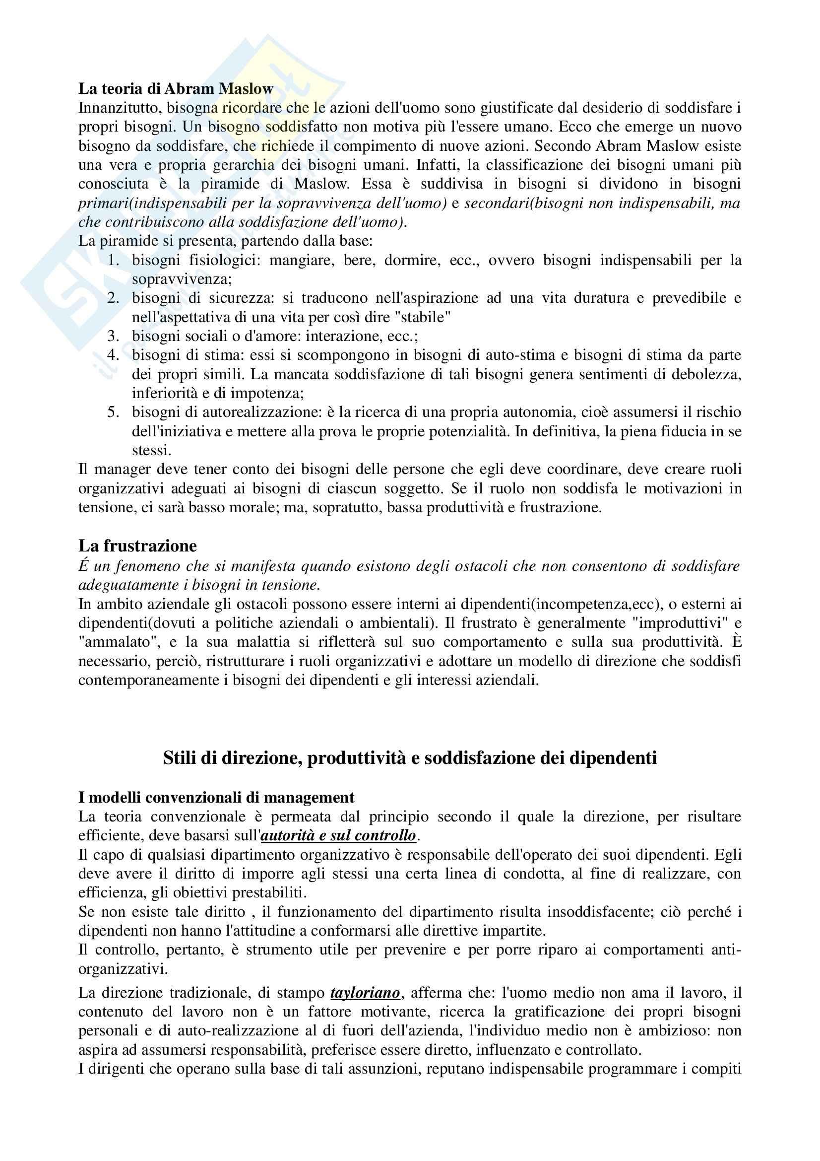 Lineamenti di economia aziendale, Zanda - Appunti Pag. 6