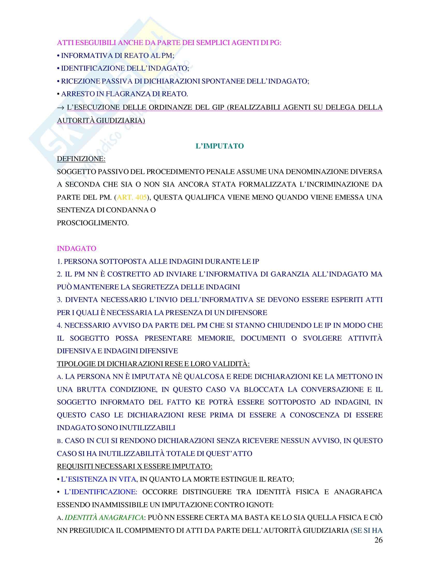 Diritto penale - procedura penale Pag. 26