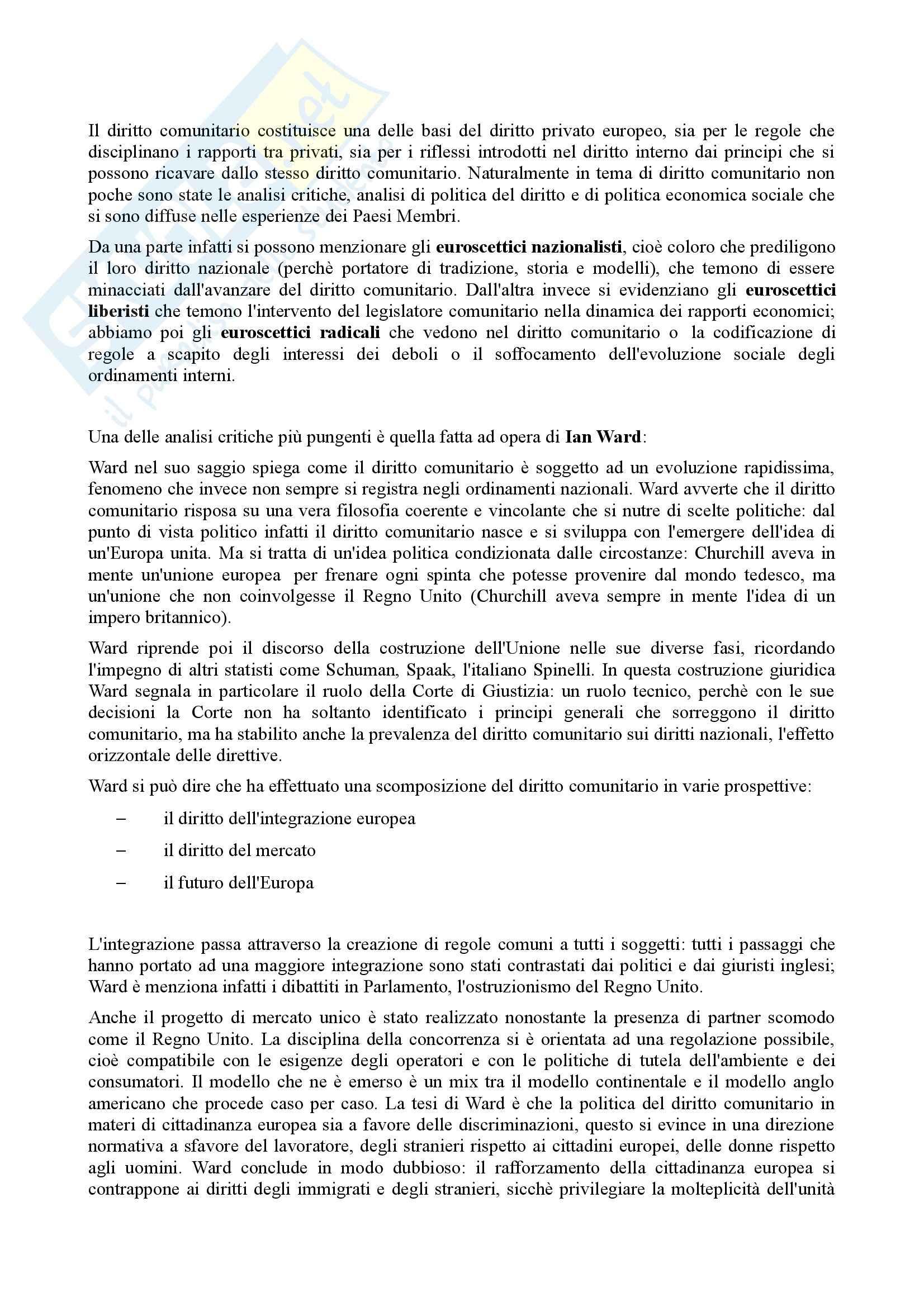 Riassunto esame Diritto Civile, prof. Alpa, libro consigliato Casi di Diritto Contrattuale Pag. 21