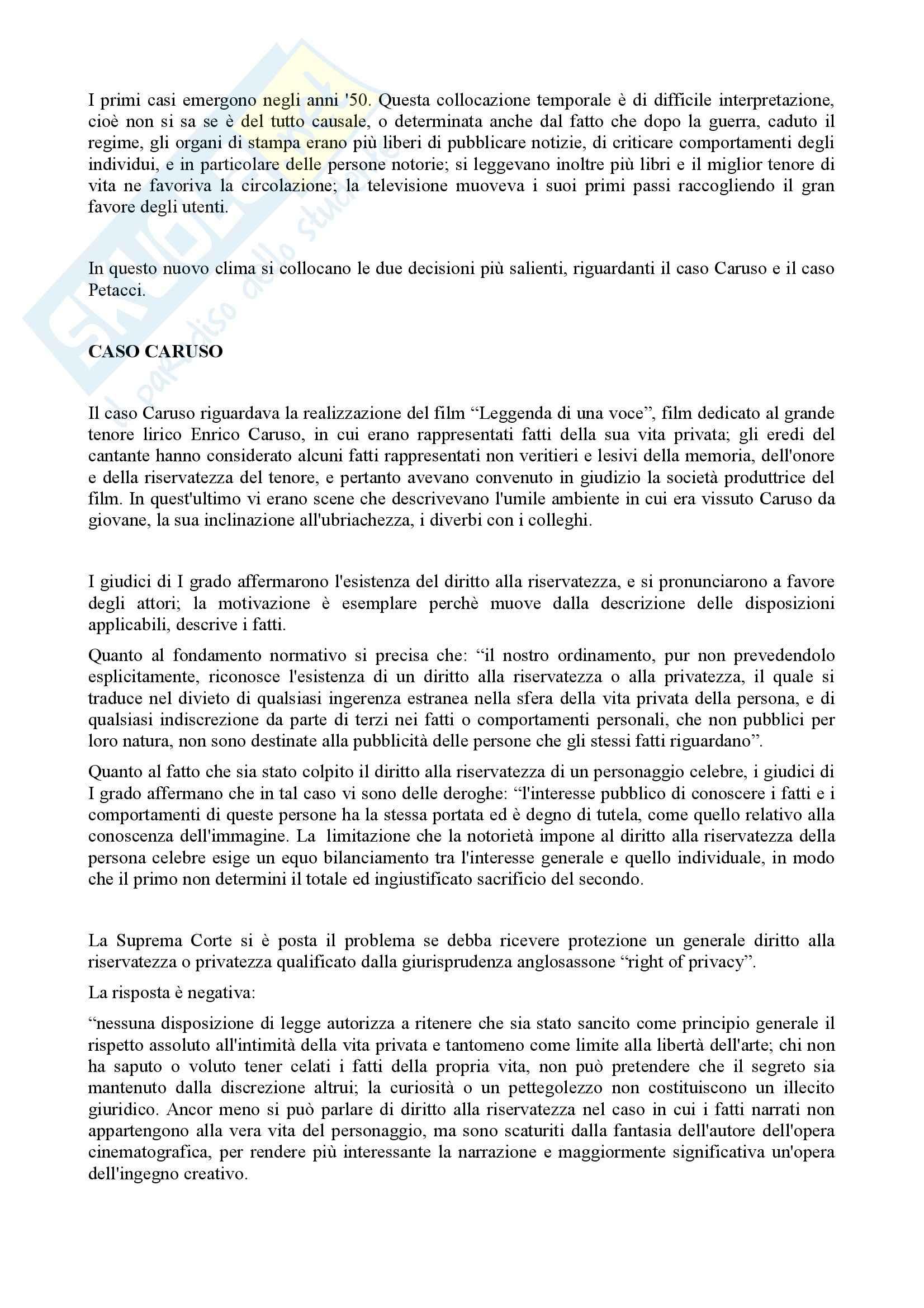 Riassunto esame Diritto Civile, prof. Alpa, libro consigliato Casi di Diritto Contrattuale Pag. 41