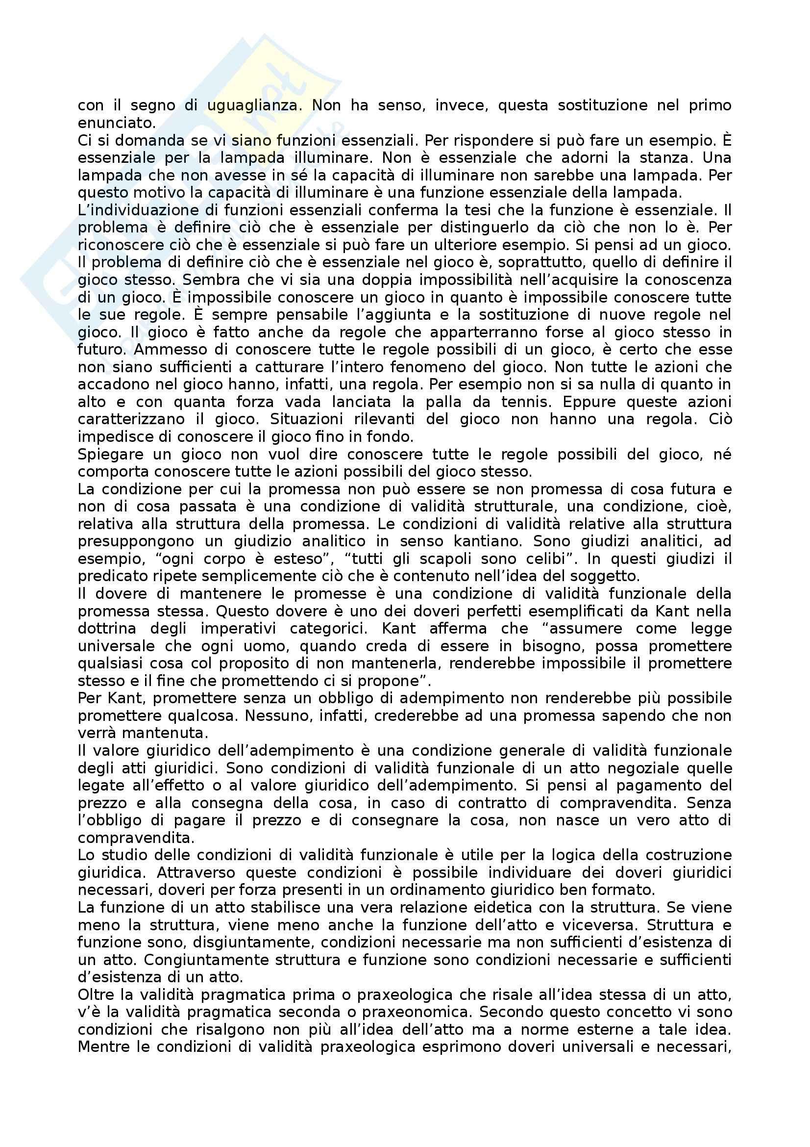 Riassunto esame Filosofia del Diritto, prof. Incampo, libro consigliato Sul Dovere Giuridico Pag. 6
