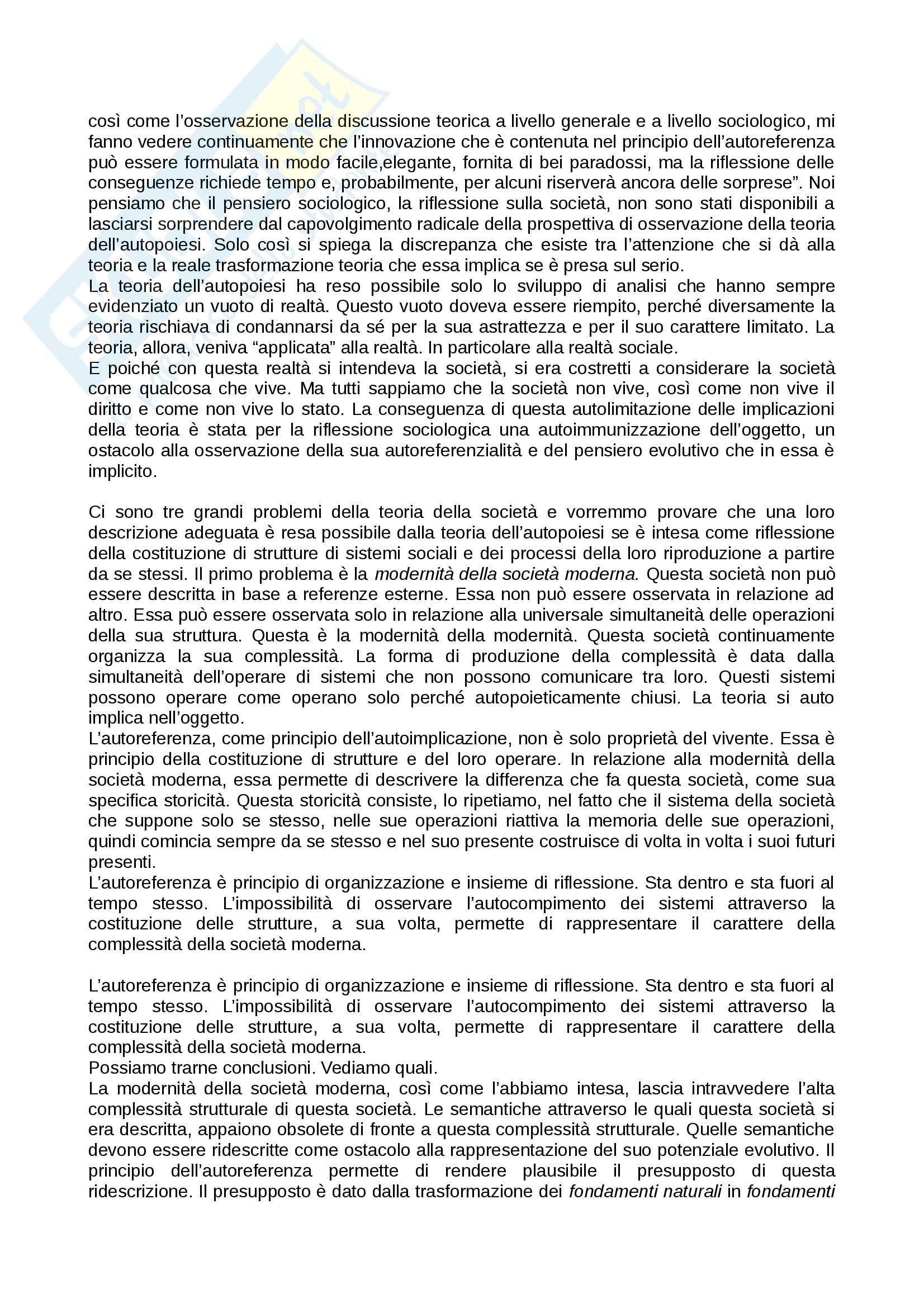 Riassunto esame Filosofia del diritto, prof. De Giorgi Pag. 31