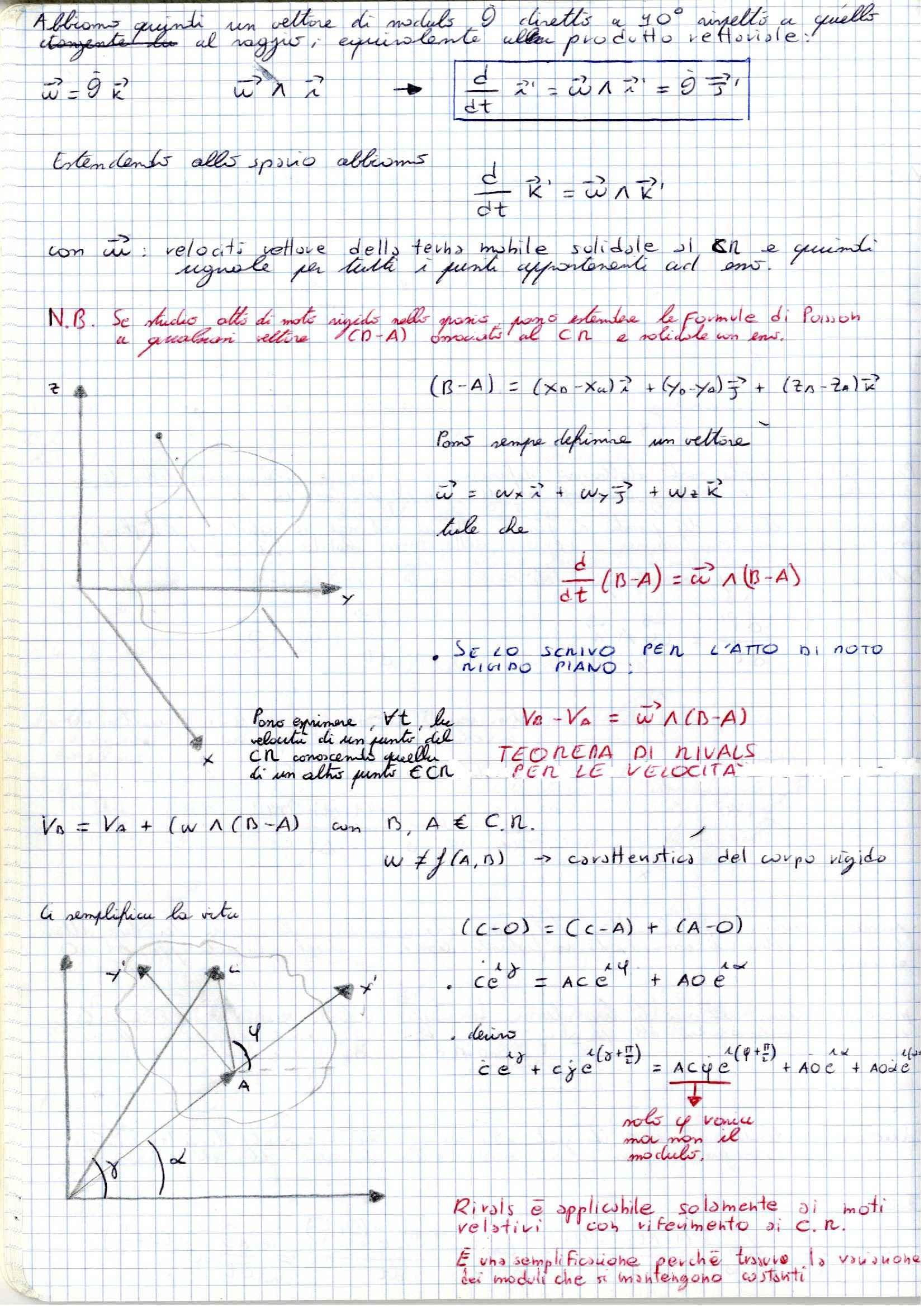 Meccanica applicata alle macchine -  Appunti (prima parte) Pag. 26
