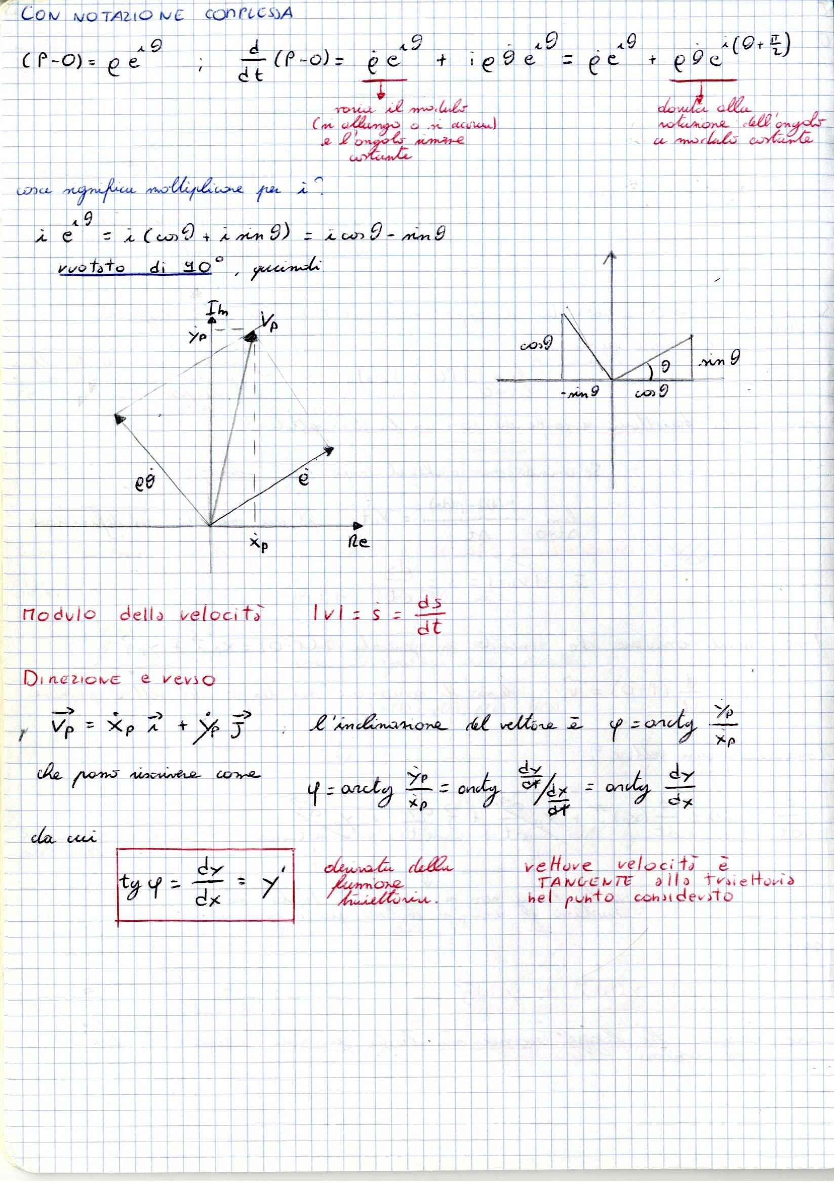 Meccanica applicata alle macchine -  Appunti (prima parte) Pag. 6
