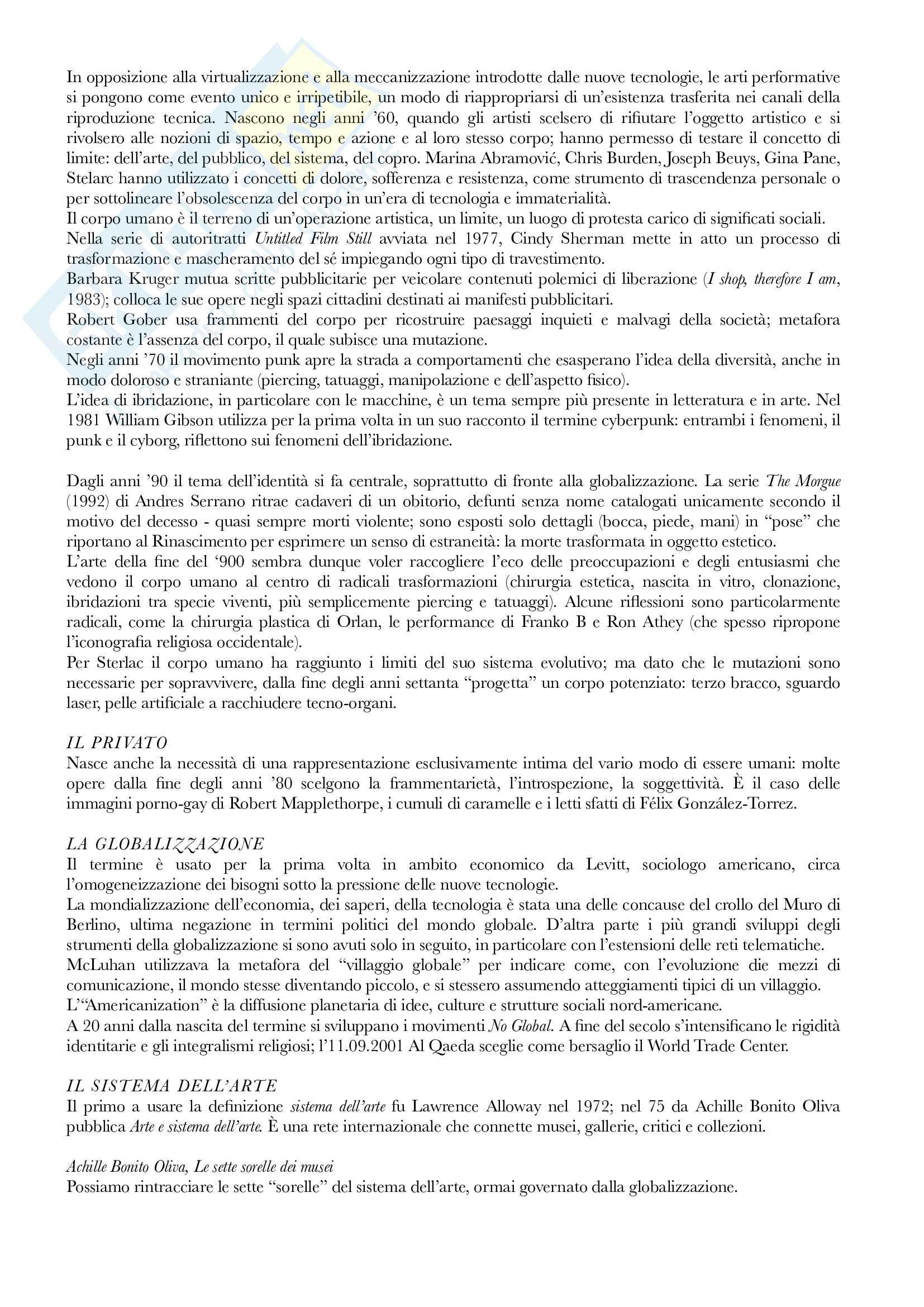 Riassunto esame Avanguardie storiche e neoavanguardie, prof. Evangelisti, libro consigliato Per-corsi di arte contemporanea, Alfano Miglietti Pag. 2