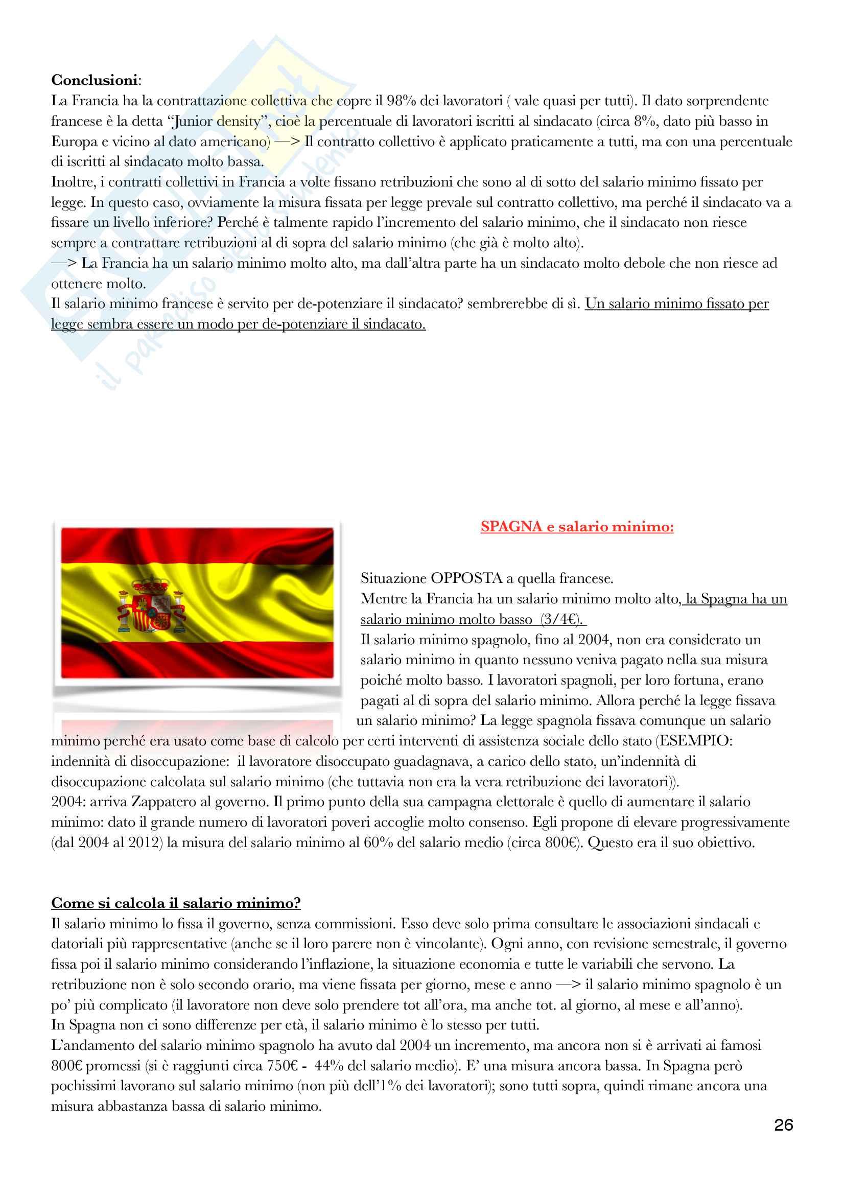 Diritto del lavoro - II Modulo Prof. Emanuele Menegatti. Appunti presi a lezione. Pag. 26