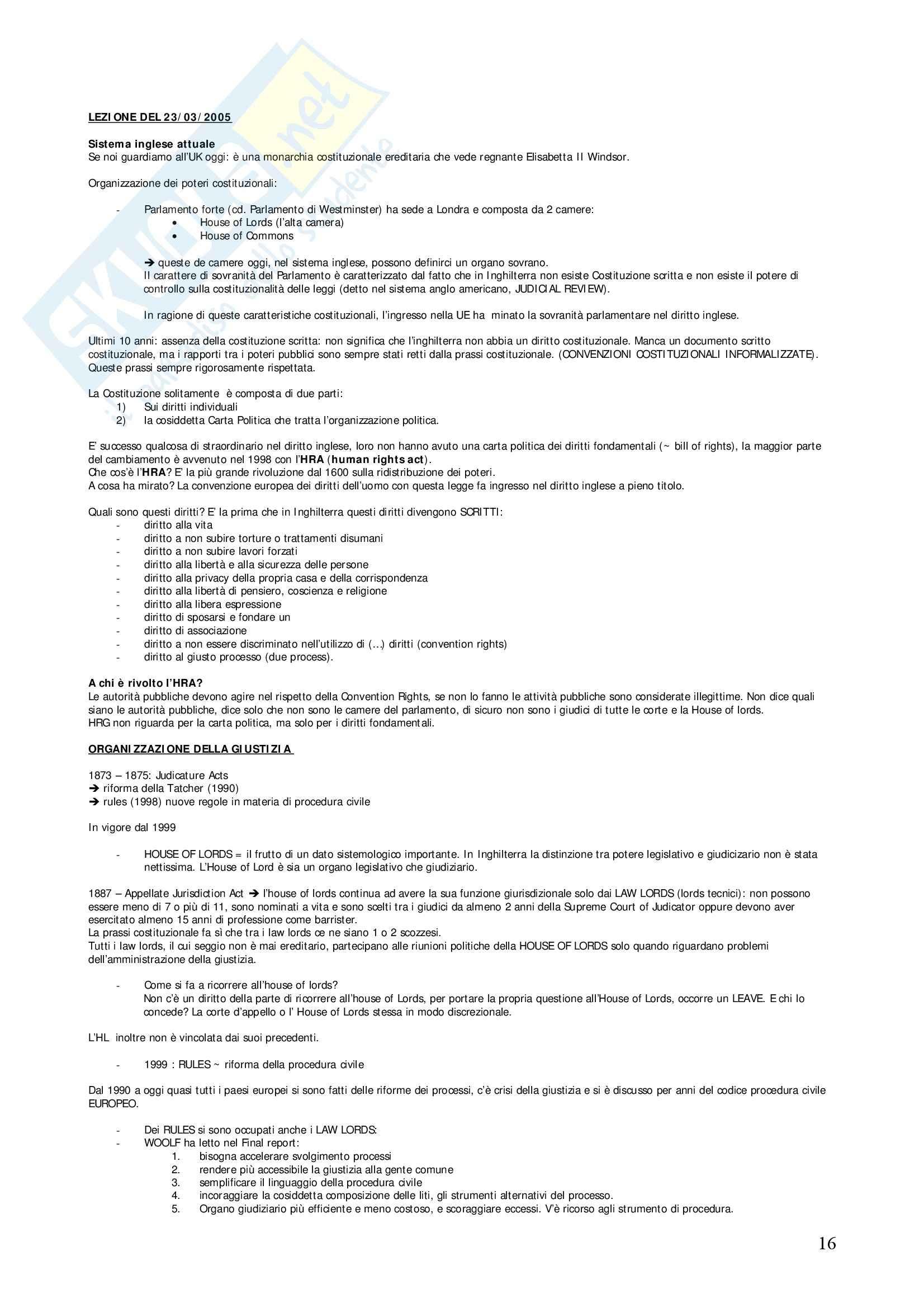 Diritto privato comparato - Appunti Pag. 16