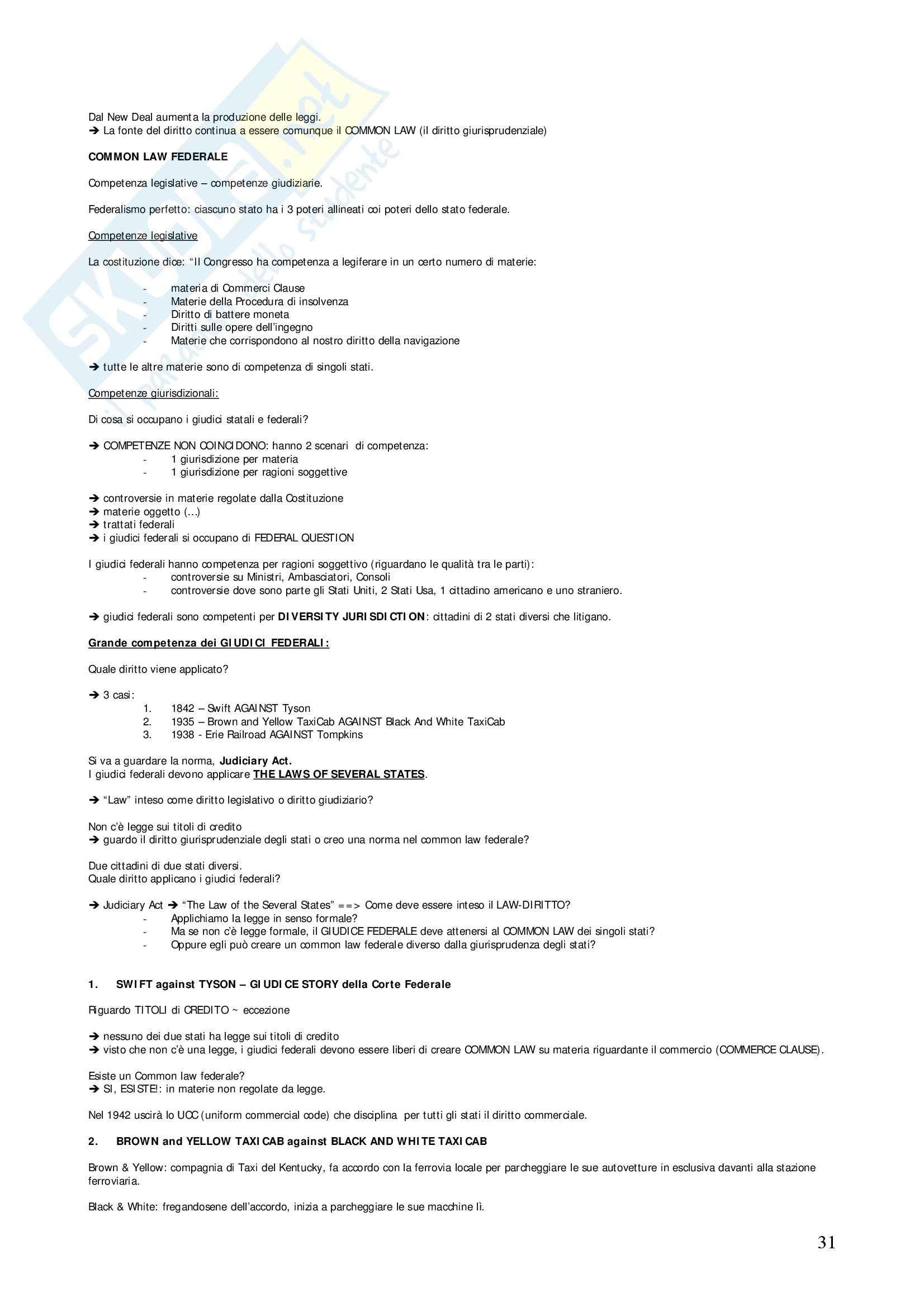 Diritto privato comparato - Appunti Pag. 31