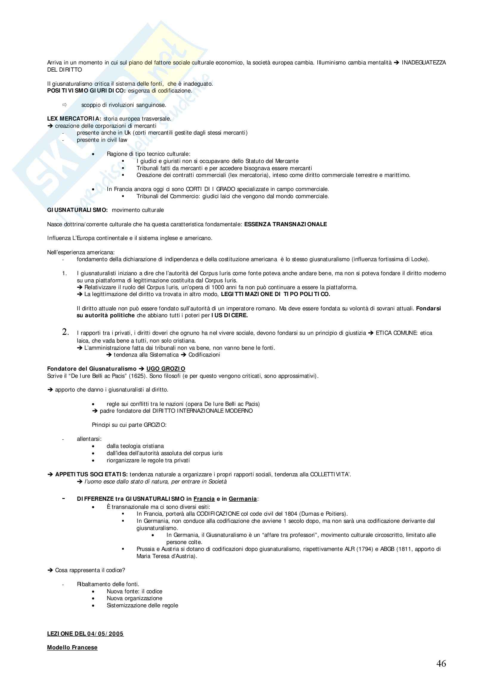 Diritto privato comparato - Appunti Pag. 46