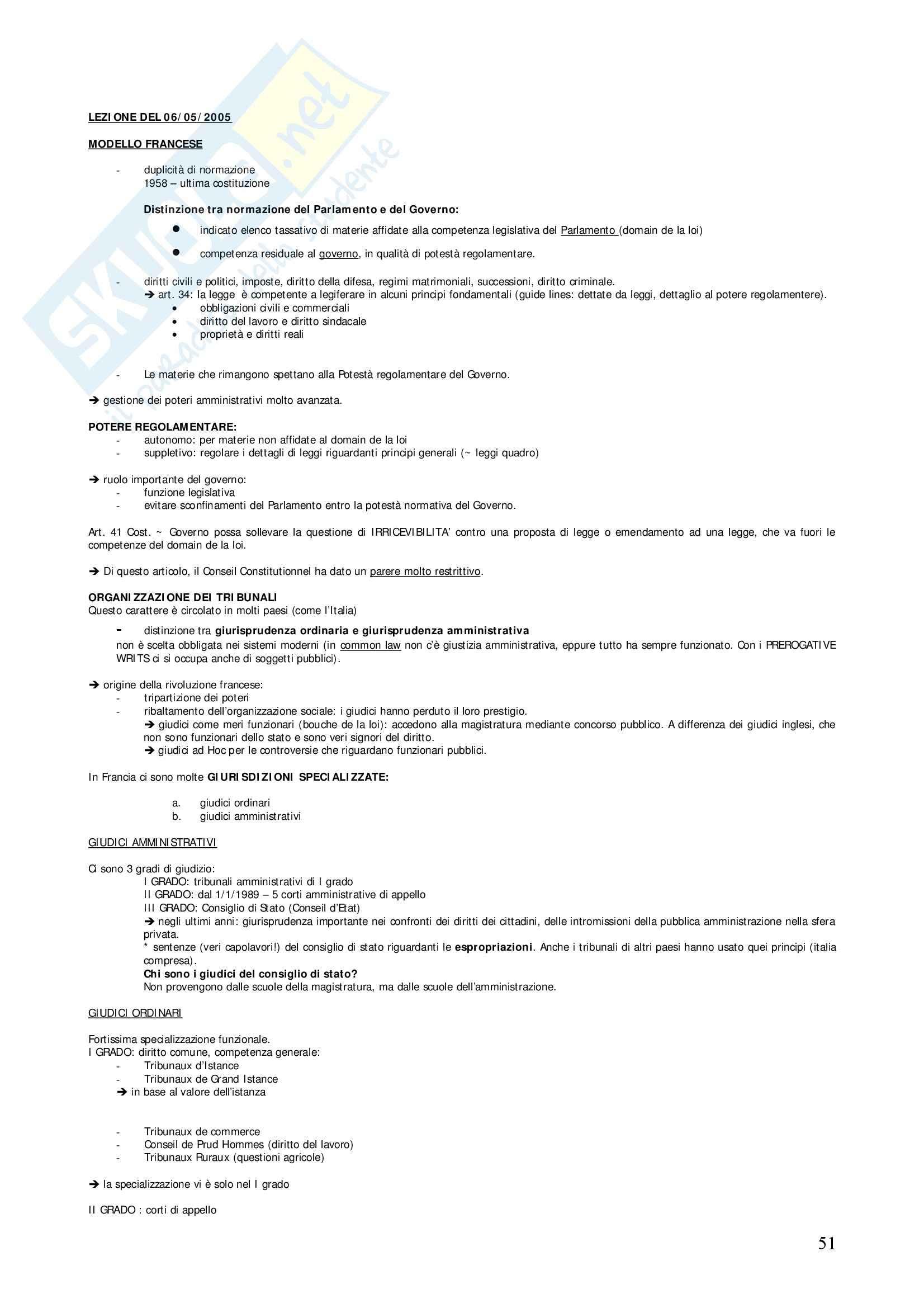 Diritto privato comparato - Appunti Pag. 51